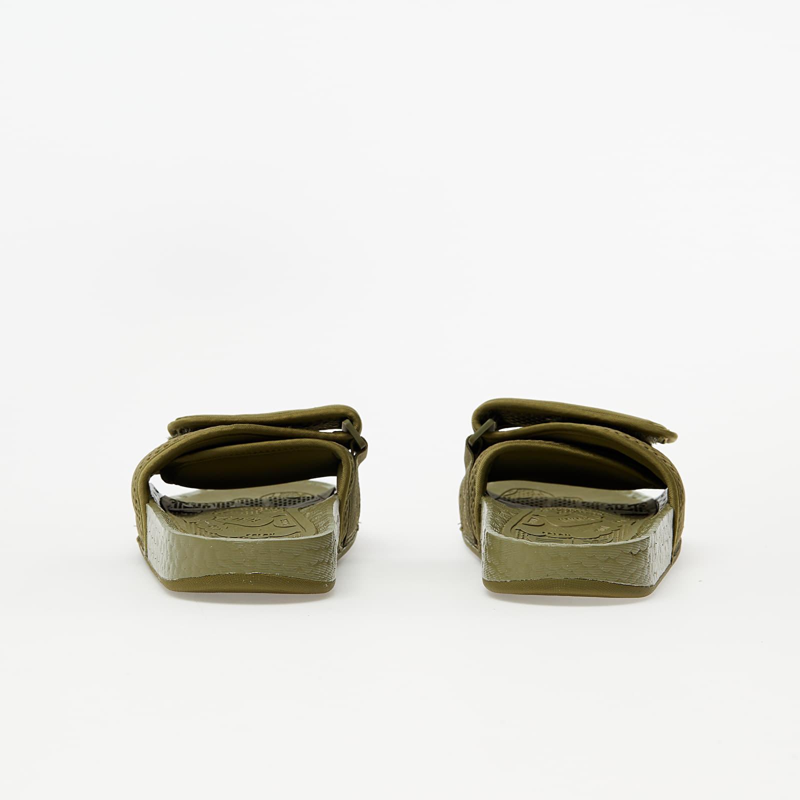 adidas x Pharrell Williams Chancletas Hu Olive Cargo/ Olive Cargo/ Olive Cargo, Green