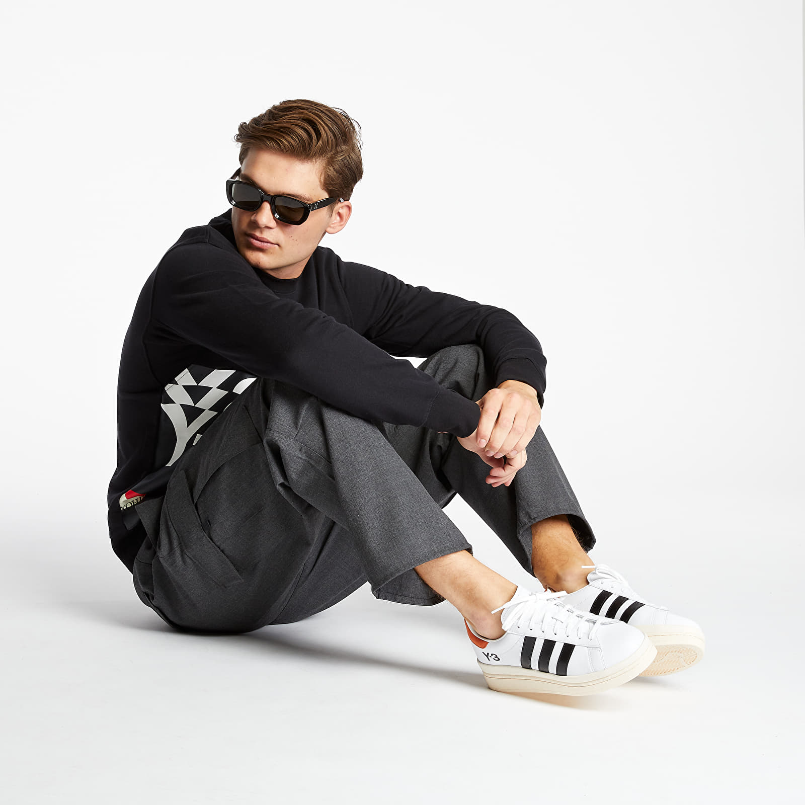 Sweatshirts Y-3 Ch1 Graphic Crewneck Black