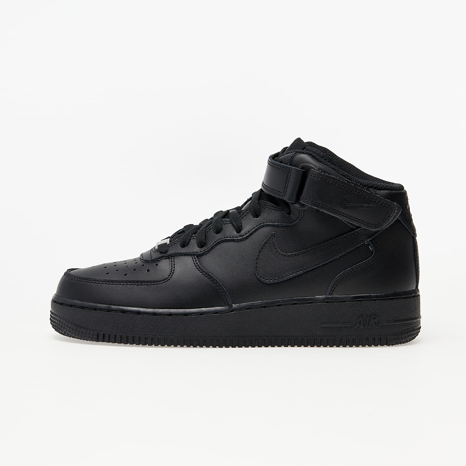 Muške tenisice do gležnja Nike Air Force 1 Mid '07 Black/ Black-Black