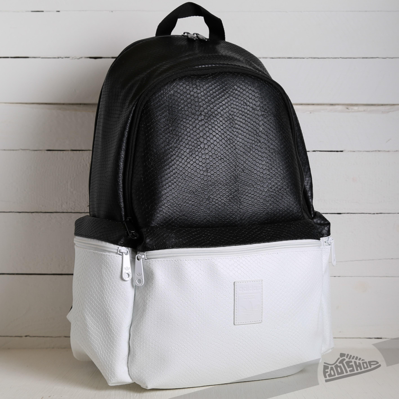 846c9cba06fd adidas Backpack Snake Black  White