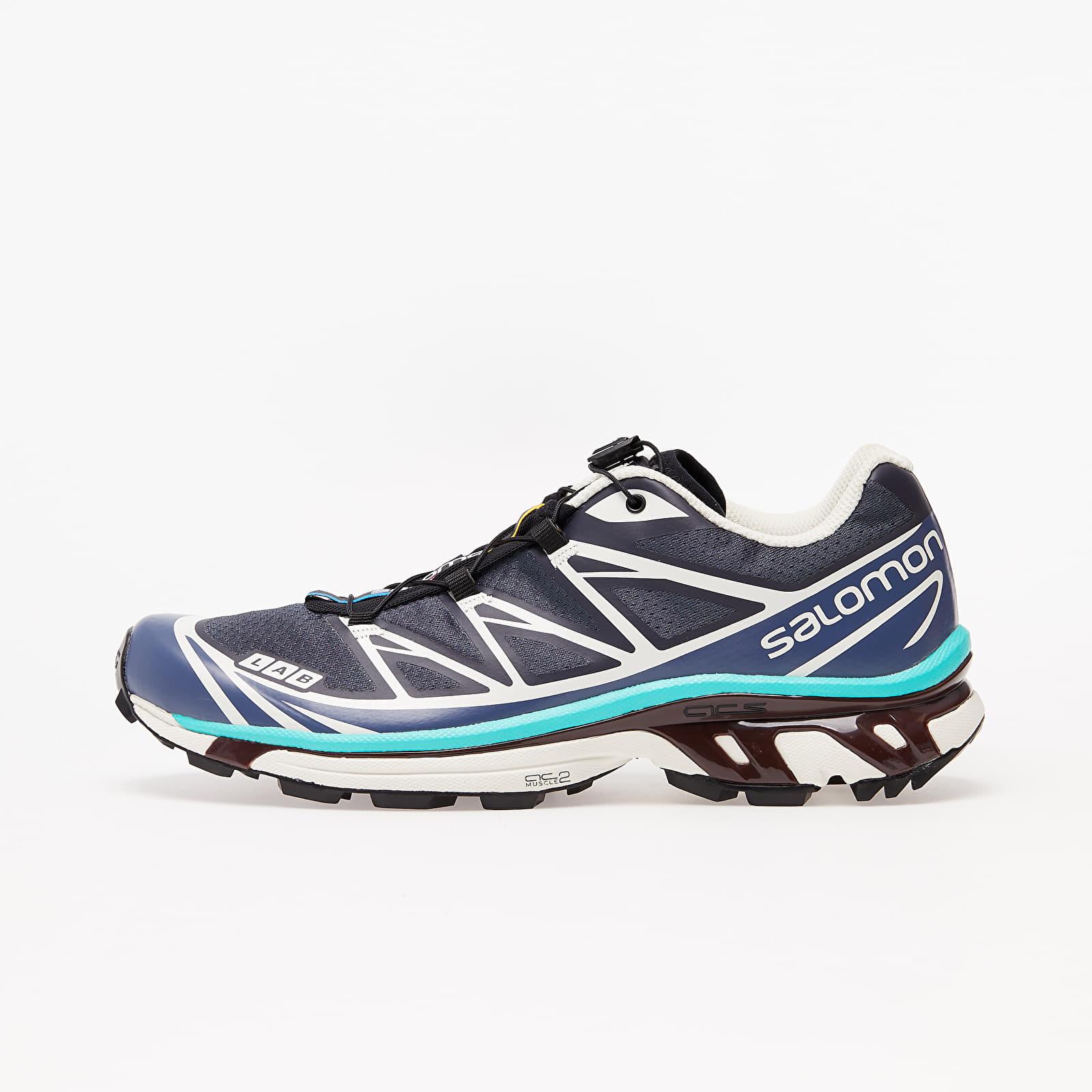 Încălțăminte și sneakerși pentru bărbați Salomon XT-6 Advanced Ebony/ Vanilla Ice/ Atlantis