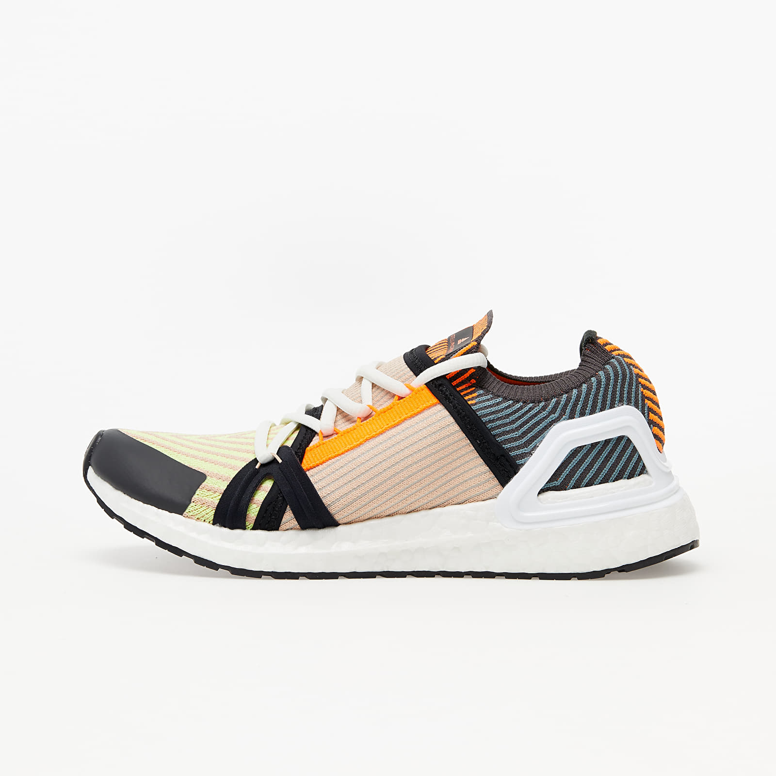 Dámské tenisky a boty adidas x Stella McCartney UltraBOOST 20 W Light Flash Yellow/ Soft Powder/ Utility Black