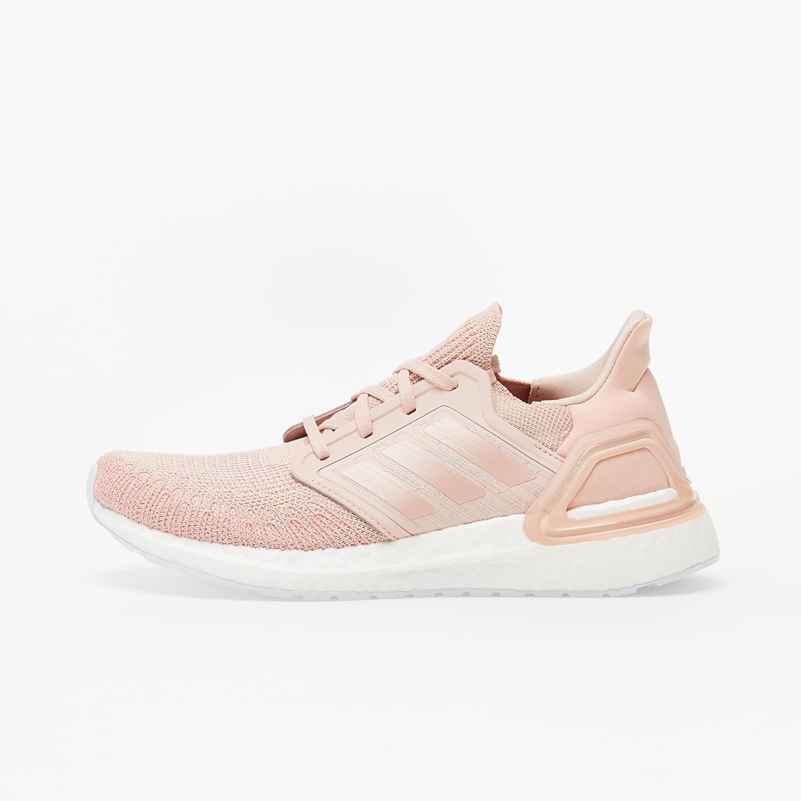 Dámské tenisky a boty adidas UltraBOOST 20 W Vapour Pink/ Vapour Pink/ Ftw White
