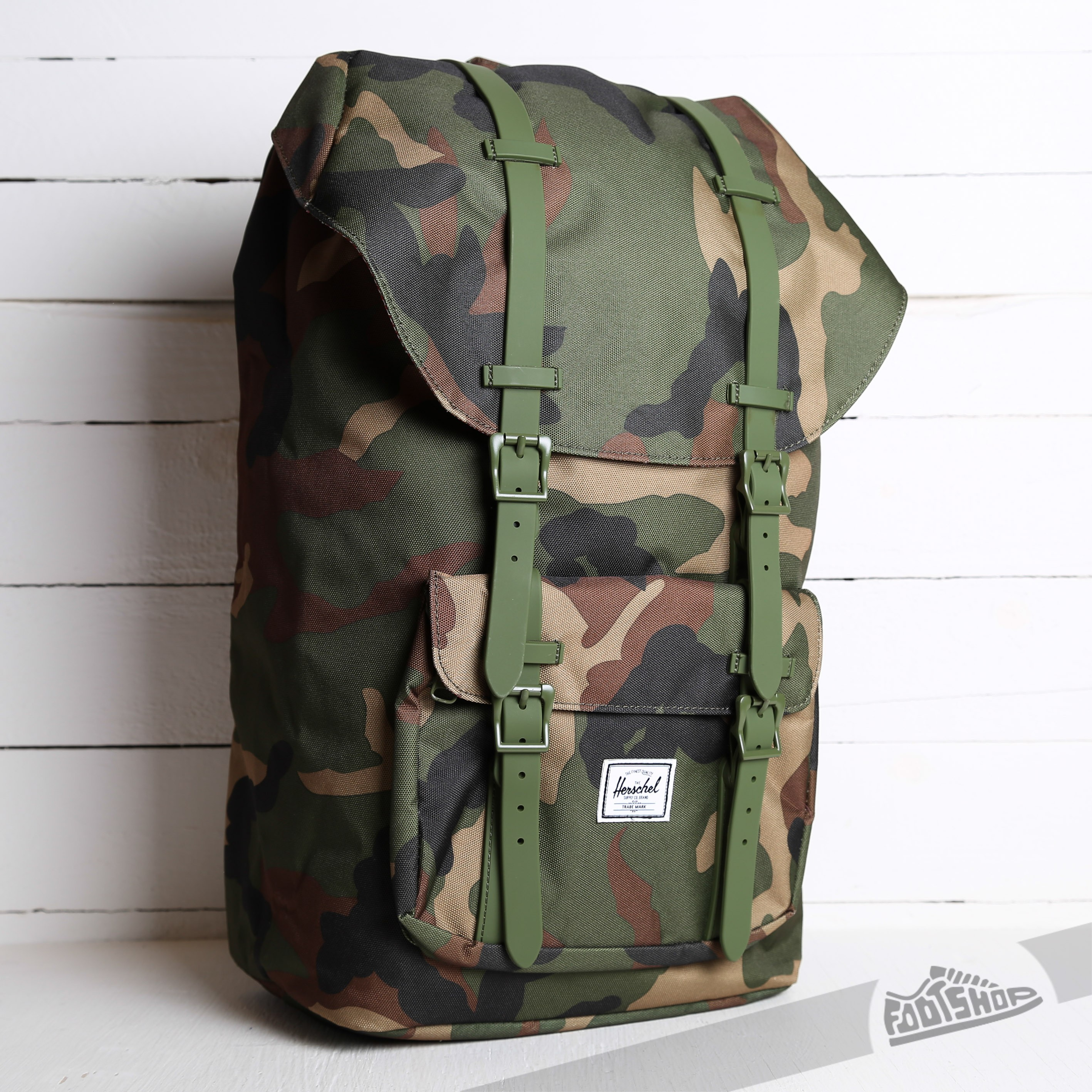 a6d0bdcc103 Herschel Supply Co. Little America Backpack Woodland Camo ...