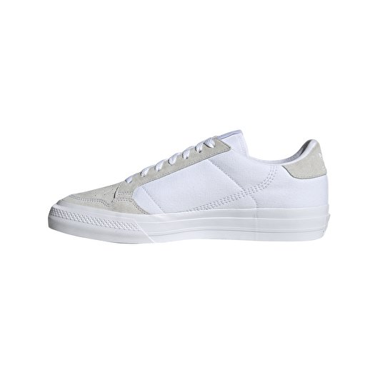 adidas Continental Vulc Ftw White/ Ftw White/ Ftw White   Footshop