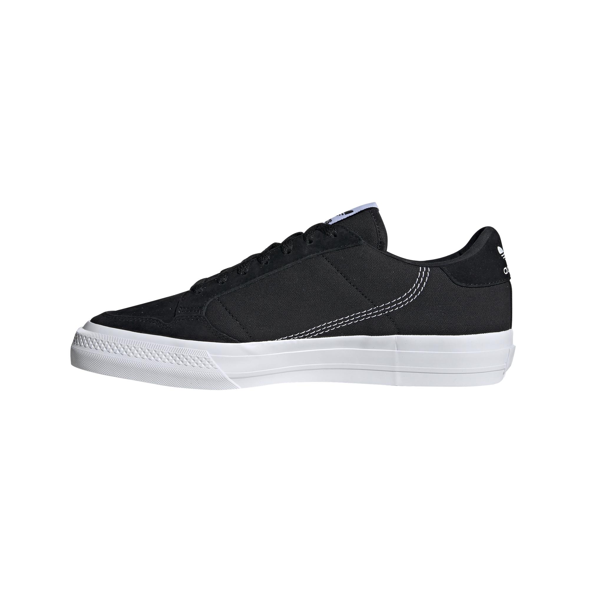 adidas Continental Vulc Core Black/ Ftw White/ Core Black EUR 44