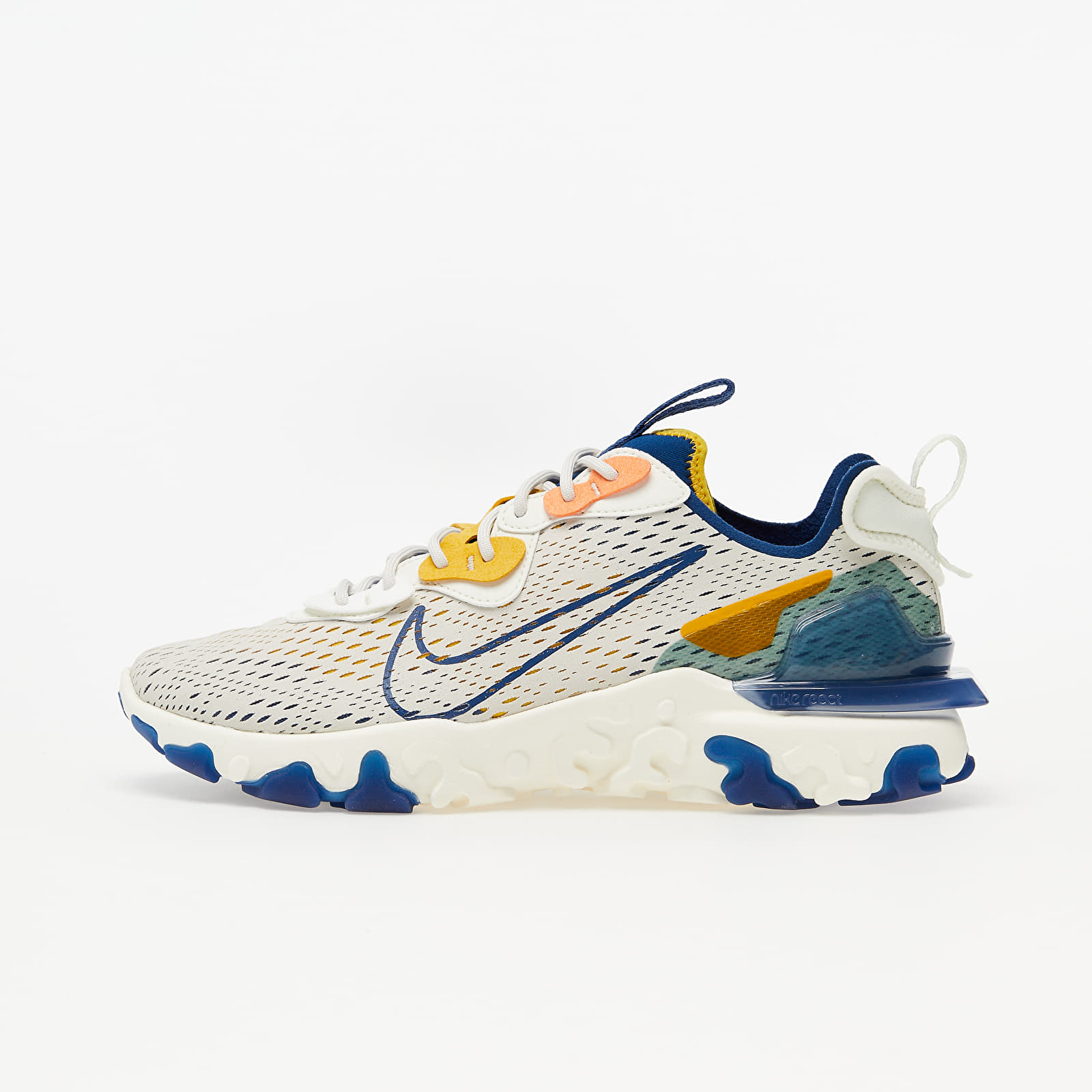 Scarpe e sneaker da uomo Nike React Vision Lt Orewood Brn/ Coastal Blue-Sail