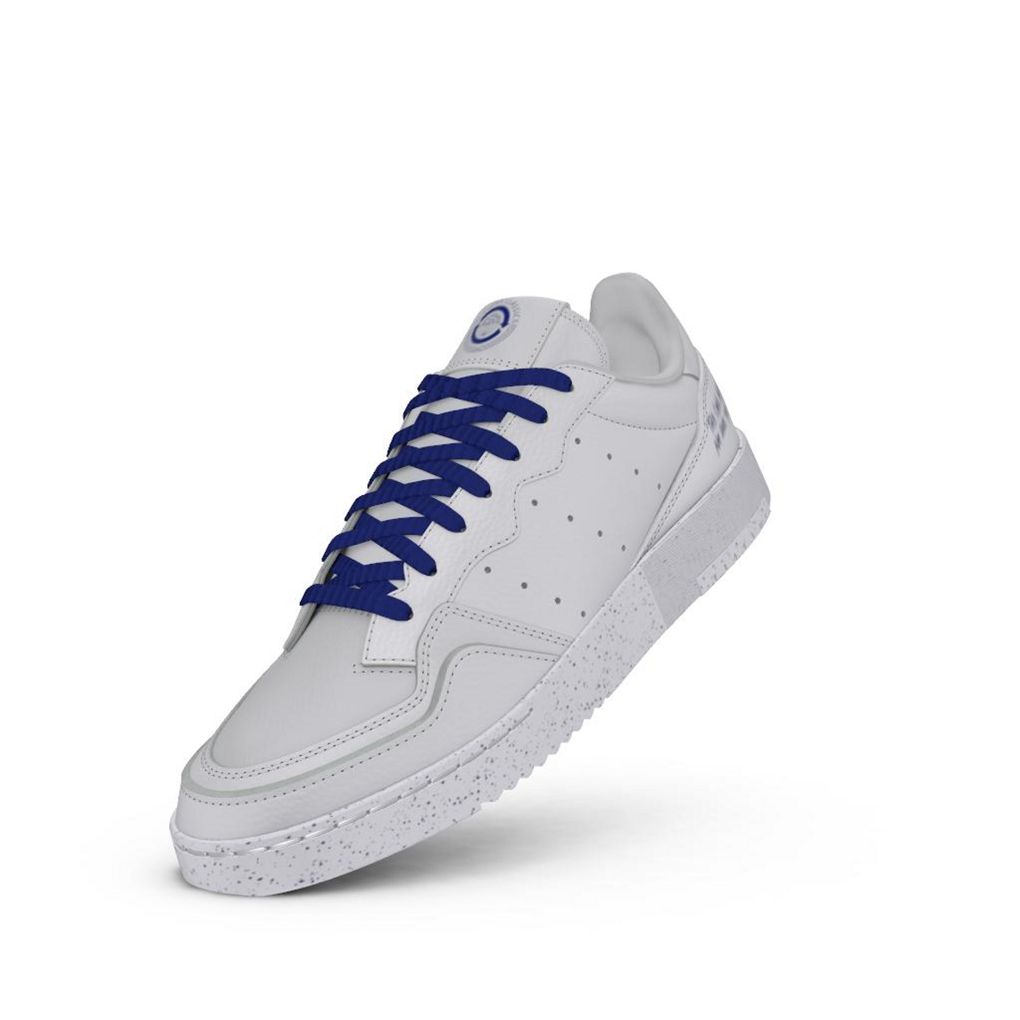 adidas Supercourt Clean Classics Ftw White/ Ftw White/ Core Royal