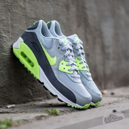 huge discount c7fac 1048e Nike Wmns Air Max 90 Essential Wolf Grey/ Ghost Green-Dark ...