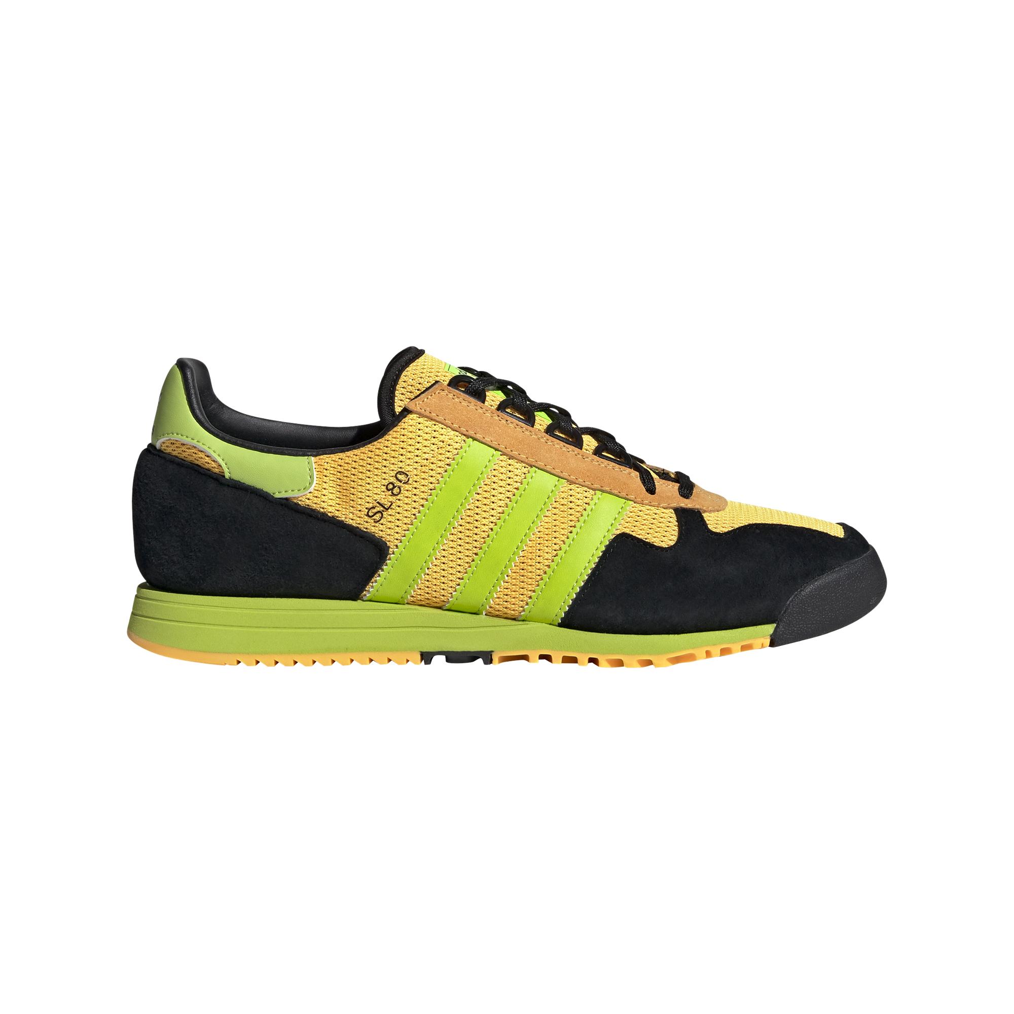 adidas SL 80 Solar Gold/ Semi Solar Slime/ Core Black, Yellow