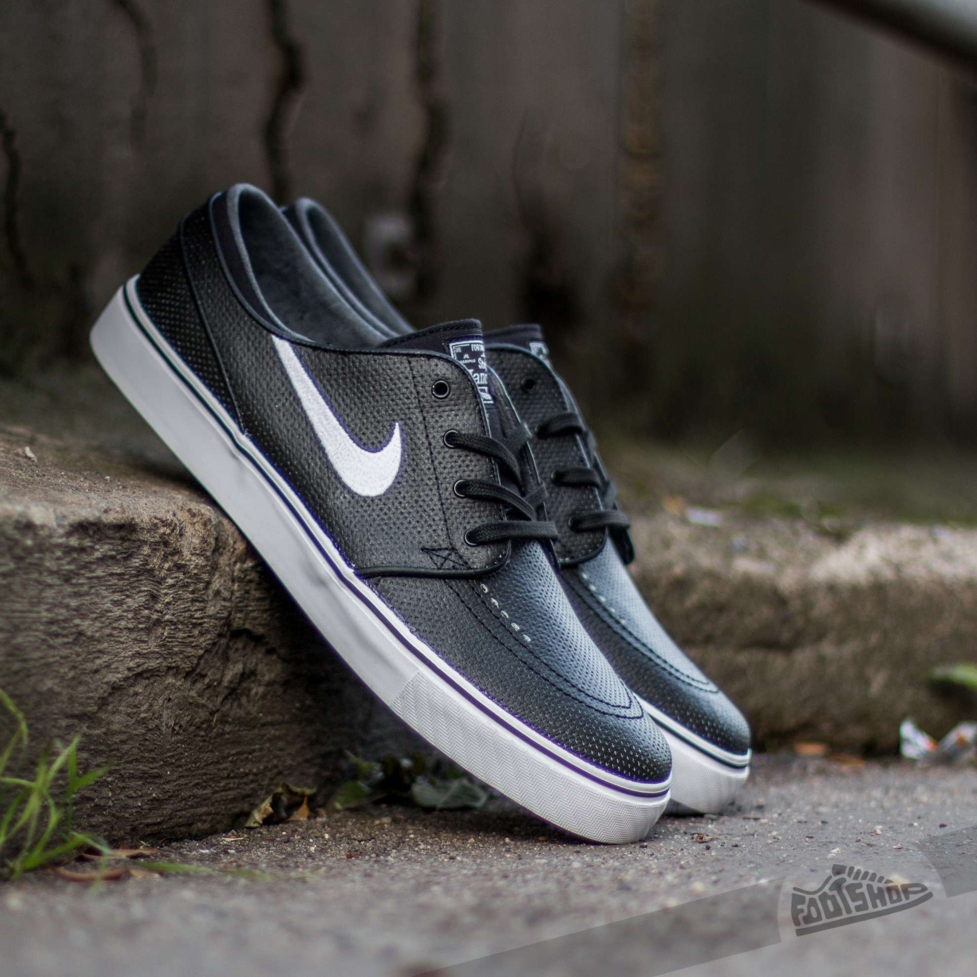 super popular 97be2 d057d Nike Zoom Stefan Janoski Black  White-Wolf Grey