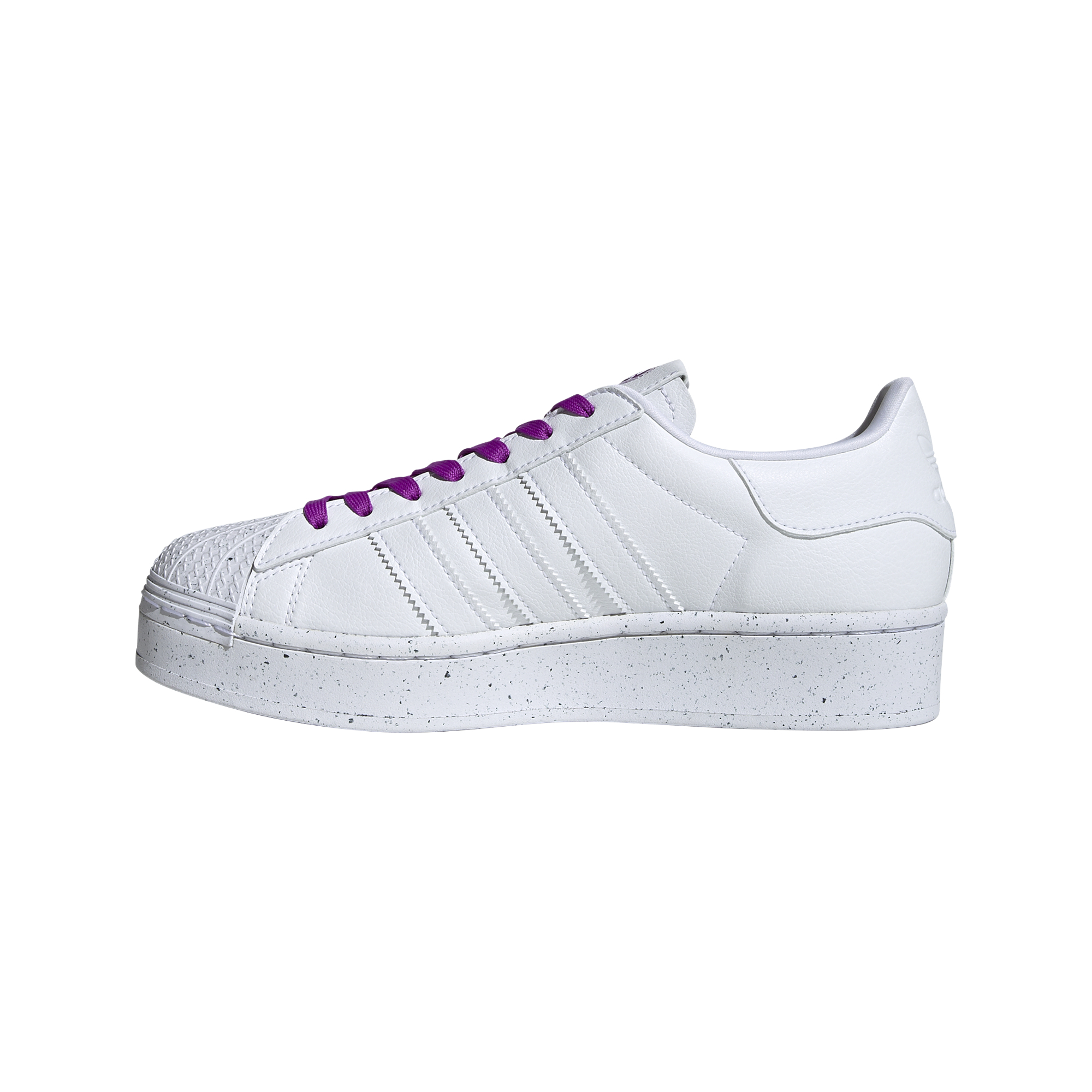 adidas Superstar Bold W Clean Classics Ftw White/ Ftw White/ Shock Purple EUR 40