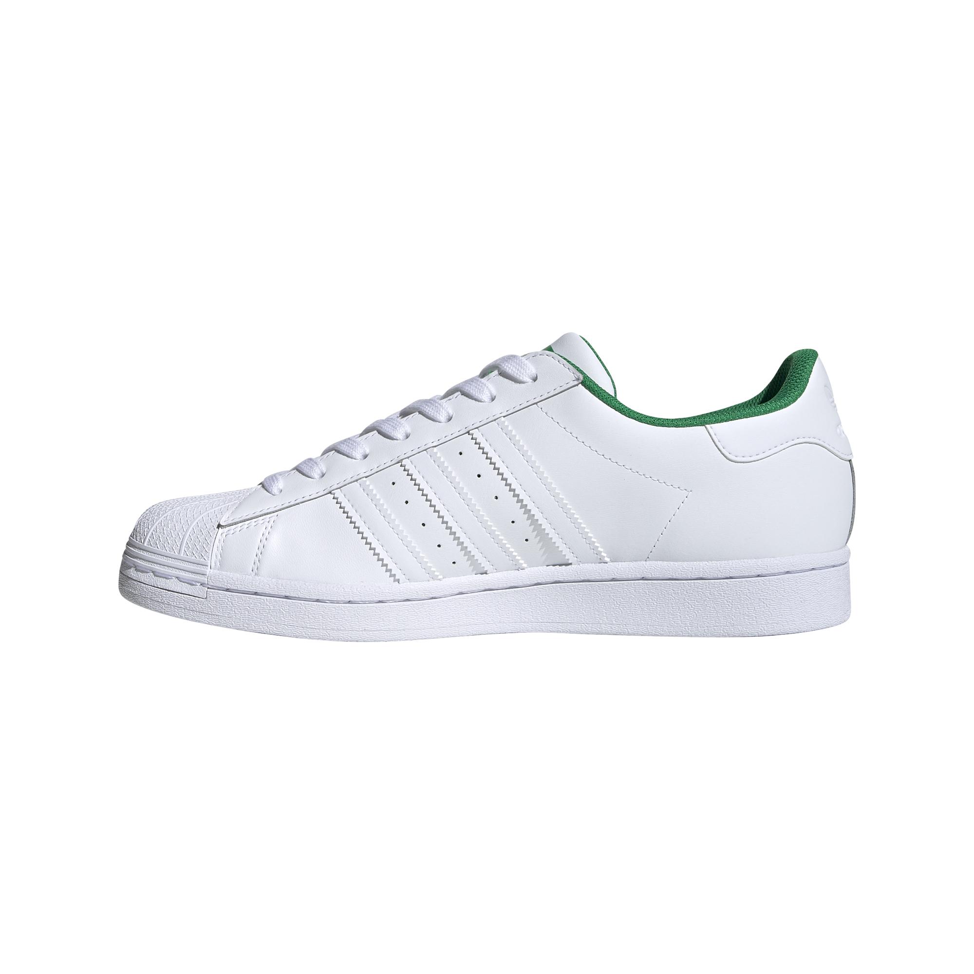 Pánské tenisky a boty adidas Superstar Ftw White/ Ftw White/ Green