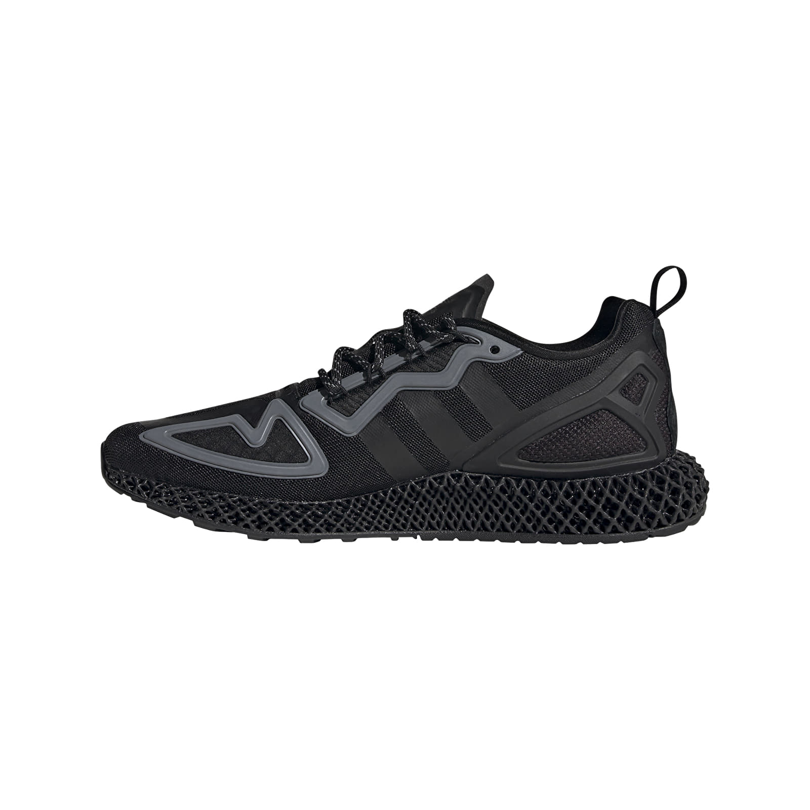 Men's shoes adidas ZX 2K 4D Core Black/ Core Black/ Core Black