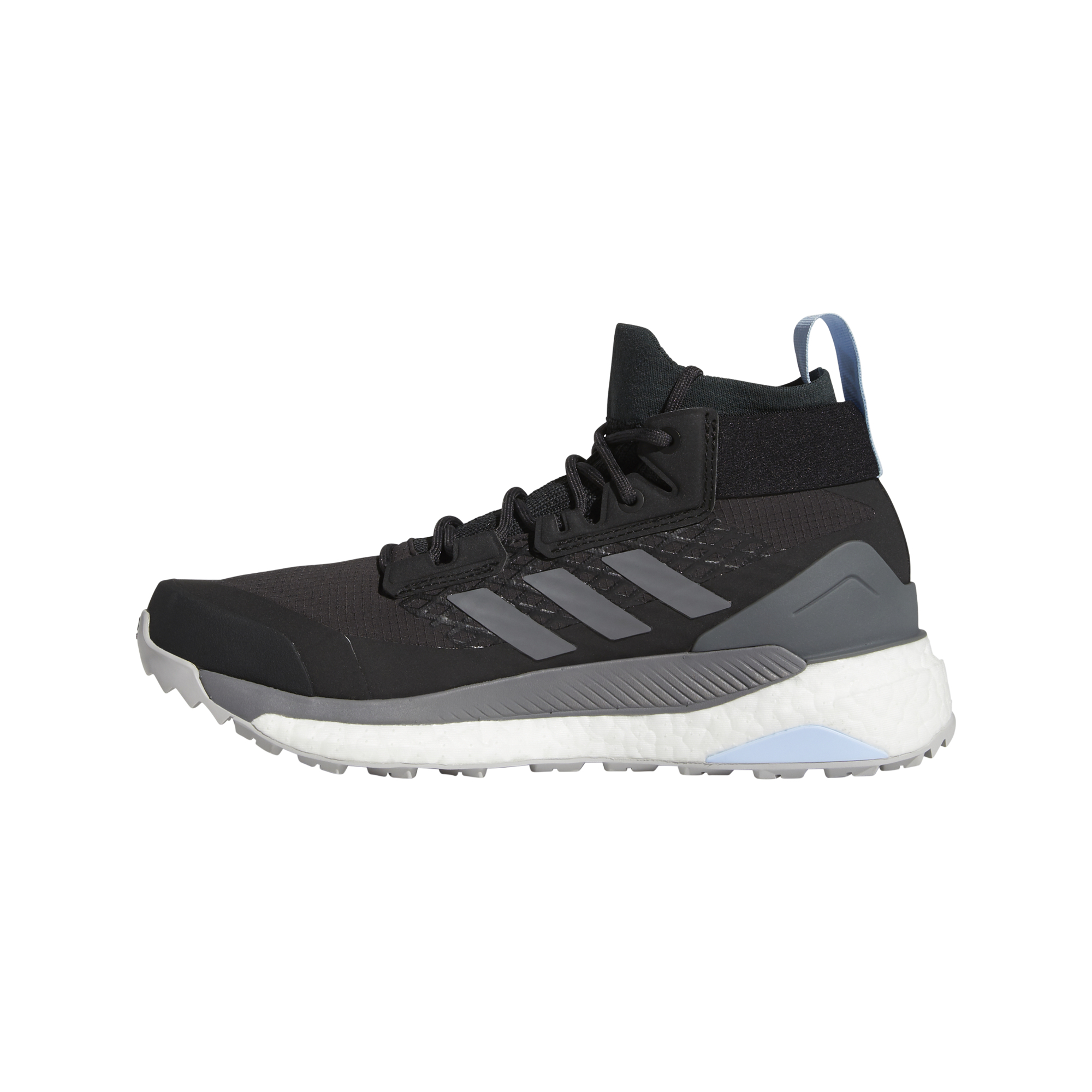 adidas Terrex Free Hiker GTX W Carbon/ Grey Four/ Glow Blue EUR 39 1/3