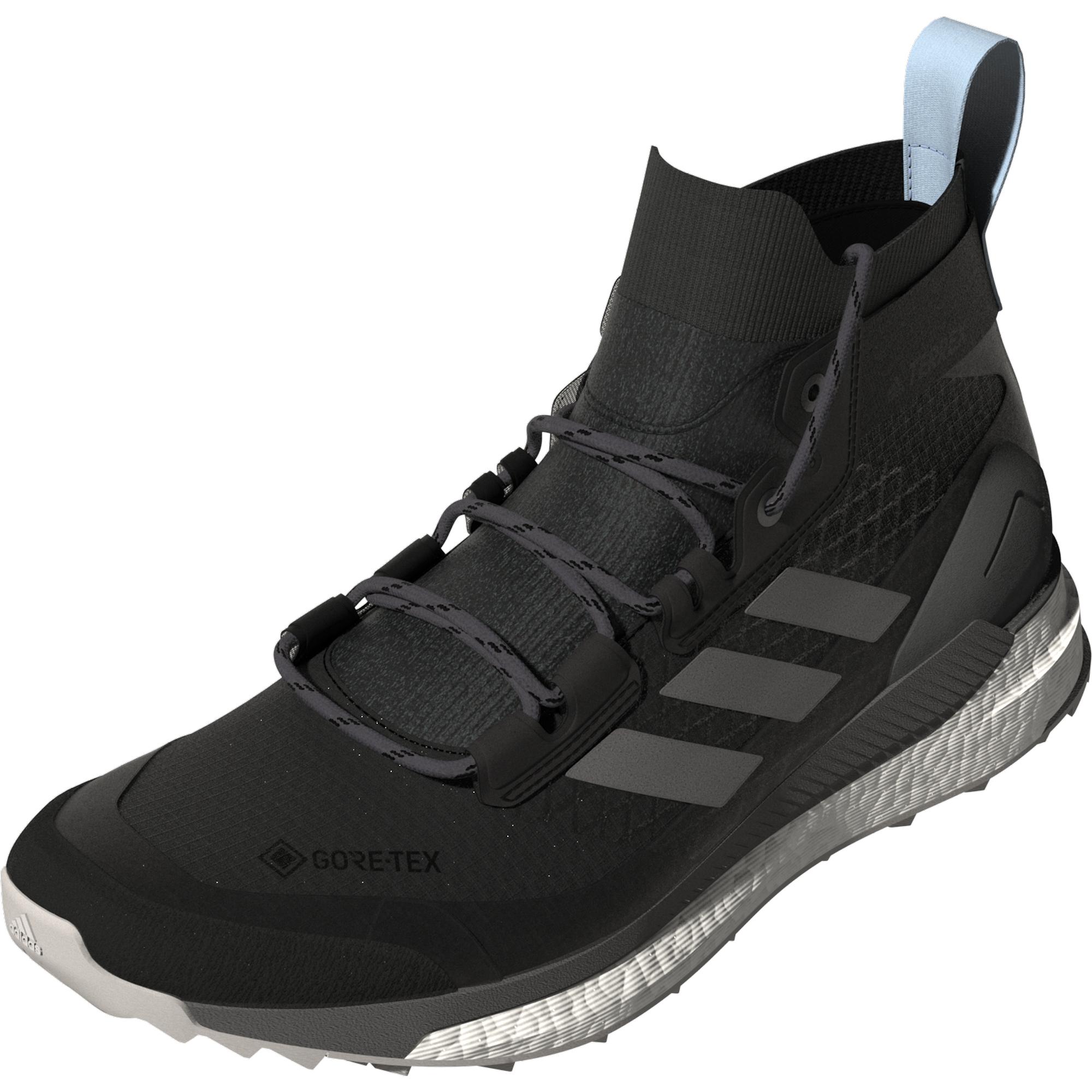 adidas Terrex Free Hiker GTX W Carbon/ Grey Four/ Glow Blue