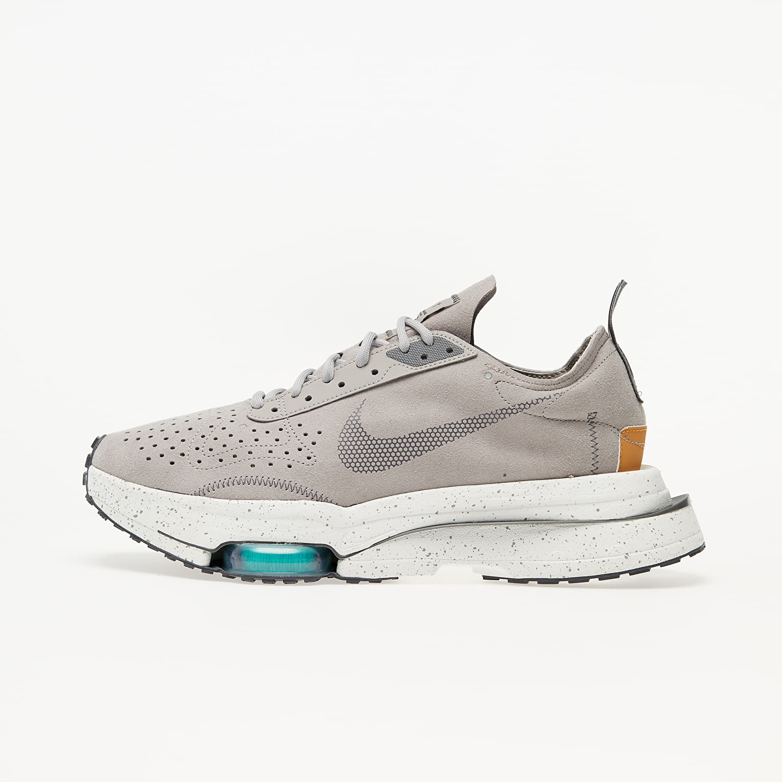 Pánske tenisky a topánky Nike Air Zoom-Type College Grey/ Dark Grey-Flax-Hyper Jade