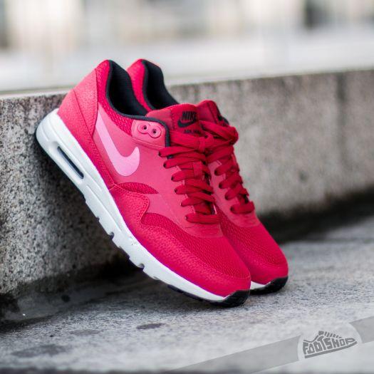 Nike W Air Max 1 Ultra Essentials Gym Red Gym Red Black Sail | Footshop