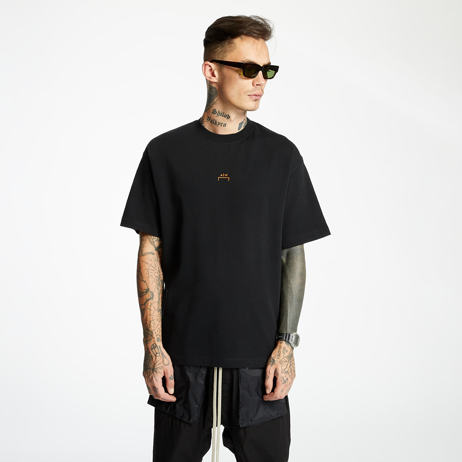 A-COLD-WALL* Core Tee Black