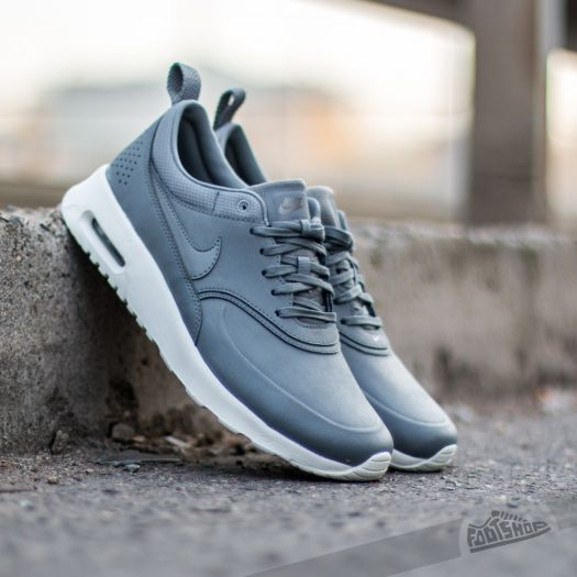Nike Wmns Air Max Thea PRM Cool GreyCool Grey Metallic Pewter | Footshop