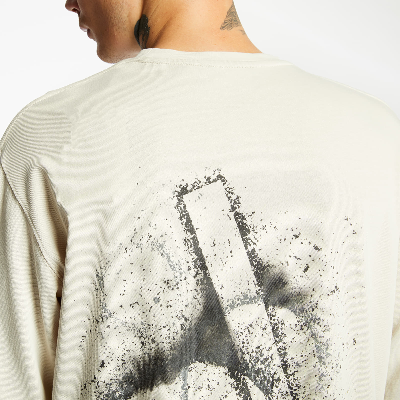A-COLD-WALL* Stencil Long Sleeve Tee Stone, Gray