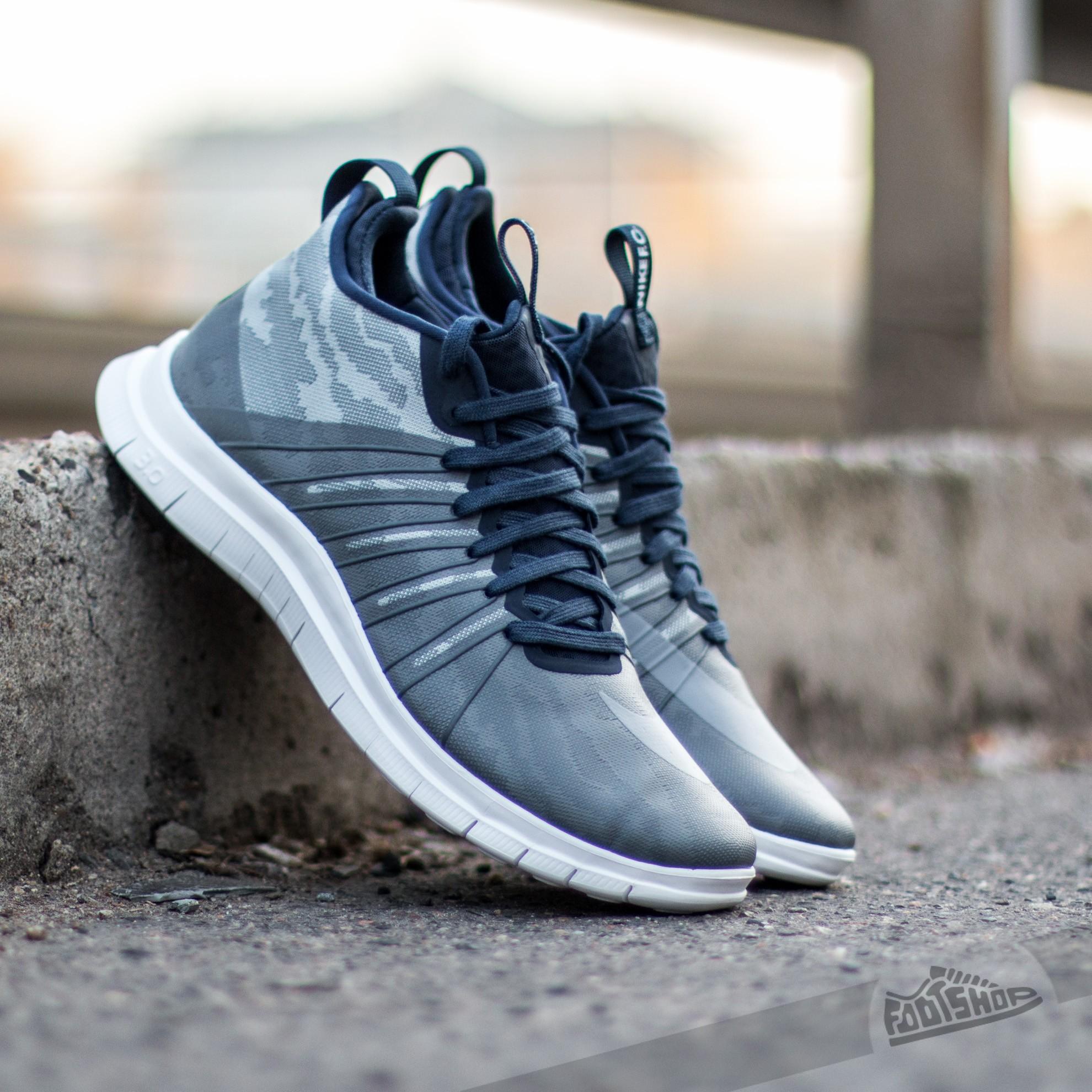 fdd7a2176efc5 Nike Free Hypervenom 2 FC Flat Silver  Clear Grey-Obsidian Dark Grey