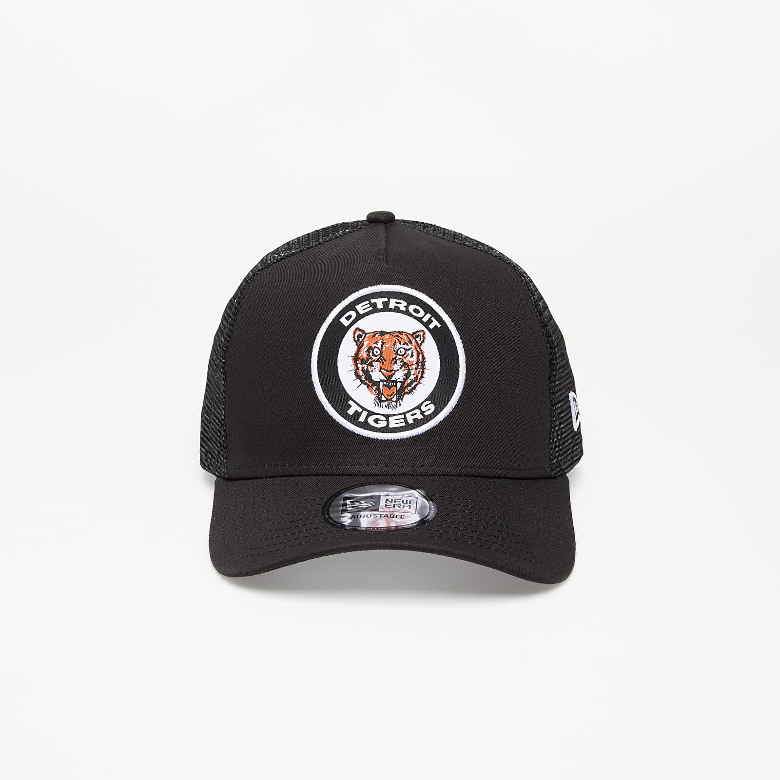 New Era 9Forty MLB Cooperstown Heritage Detroit Tigers A-Frame Trucker Cap Black univerzálna