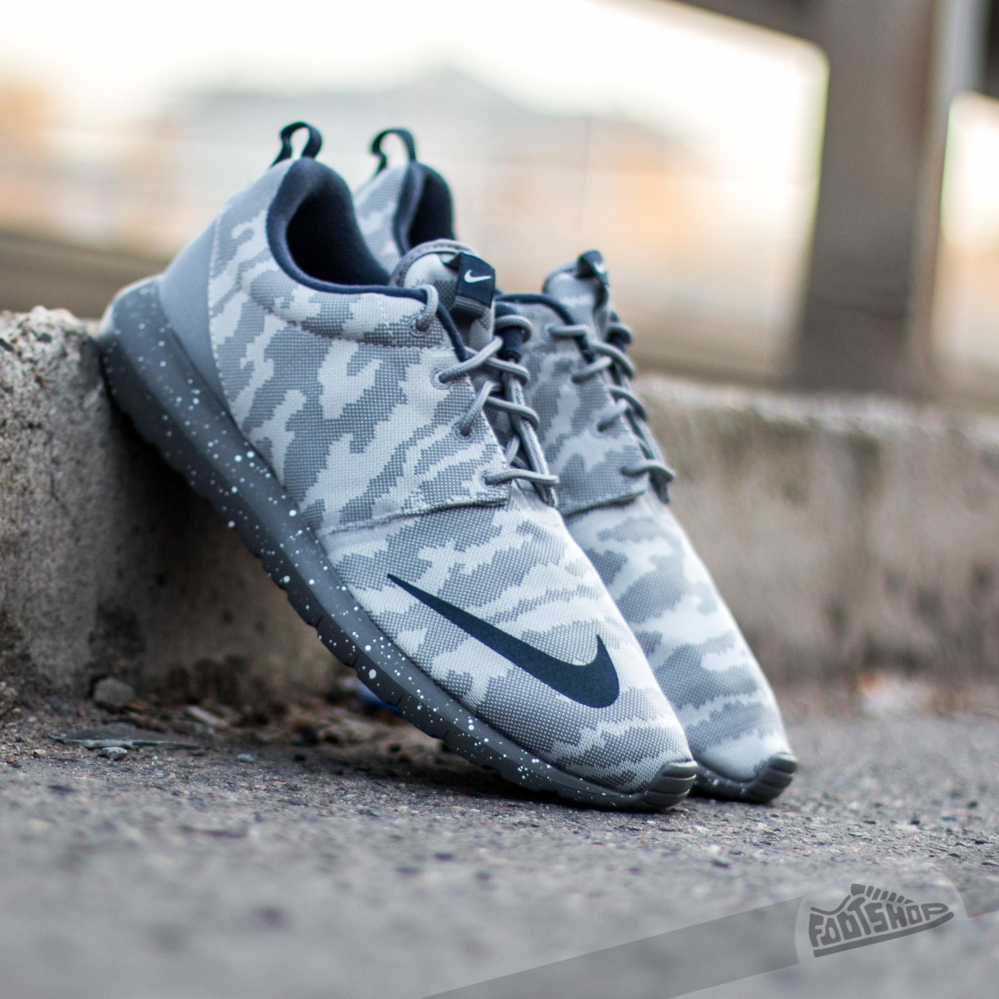 buy popular 4f259 0a5fd Nike Roshe NM FB Flat Silver  Obsidian- Dark Grey- Cool Grey