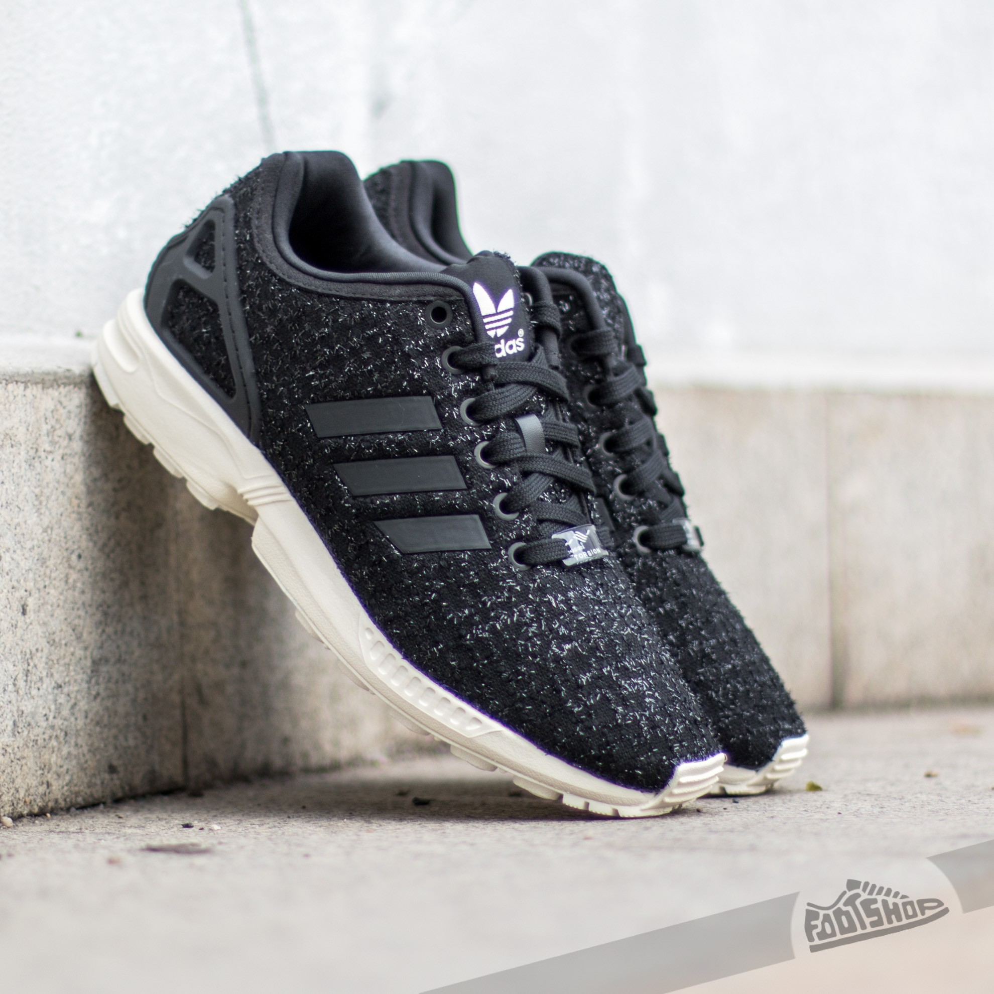 adidas ZX Flux W Core Black Core Black Ftw White | Footshop