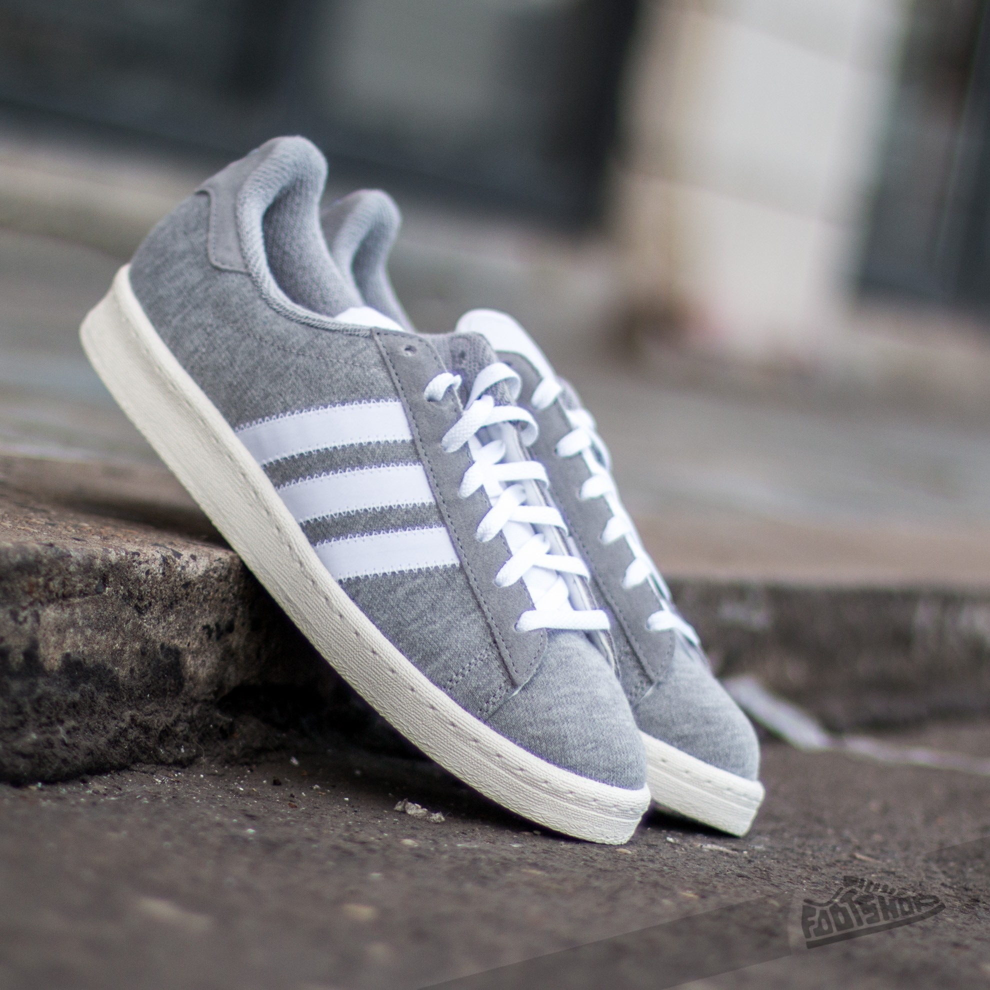 adidas x Bedwin & The Heartbreakers BW Campus 80s M Grey Ftw White O White | Footshop