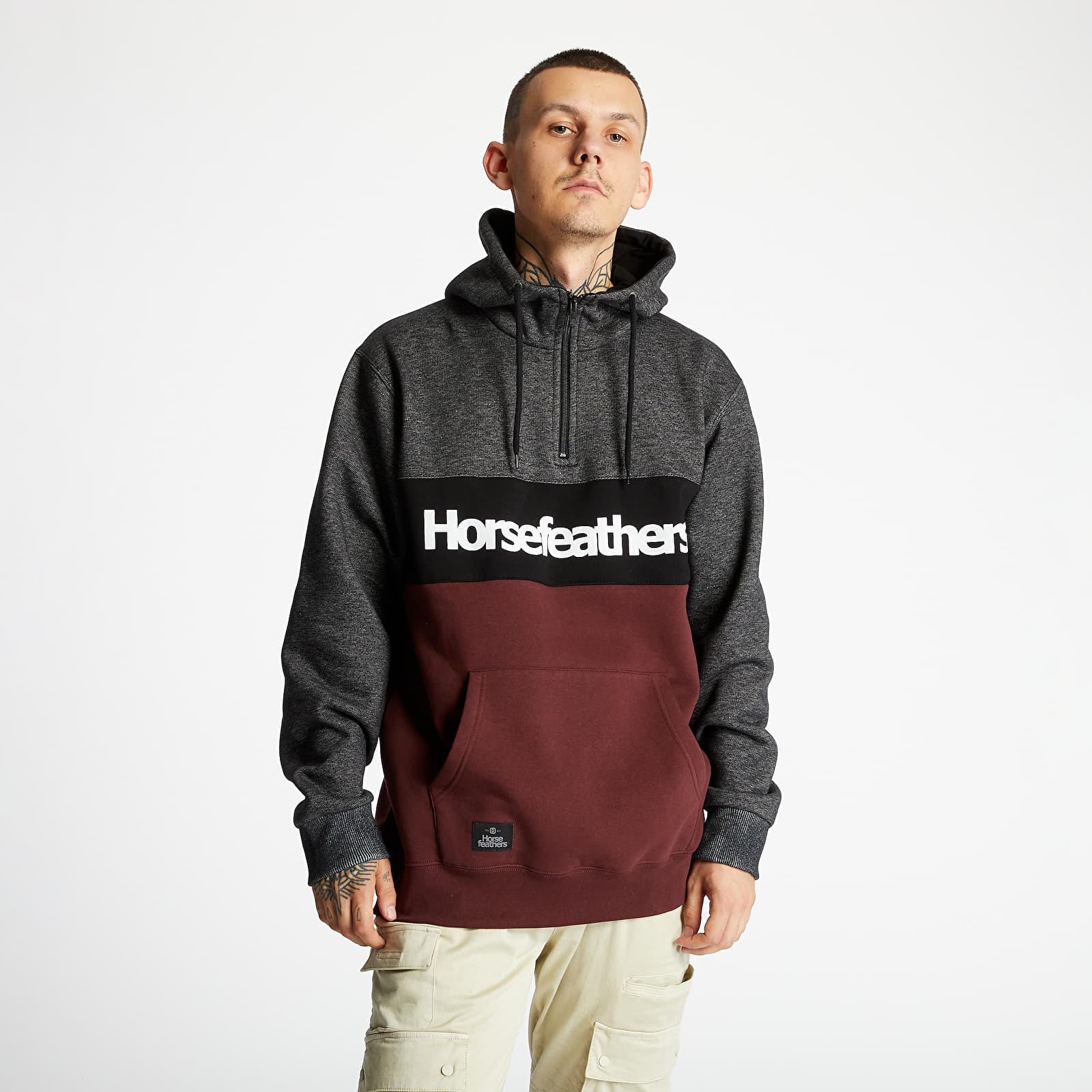 Hanorace și bluze Horsefeathers Riggs Sweatshirt Raisin