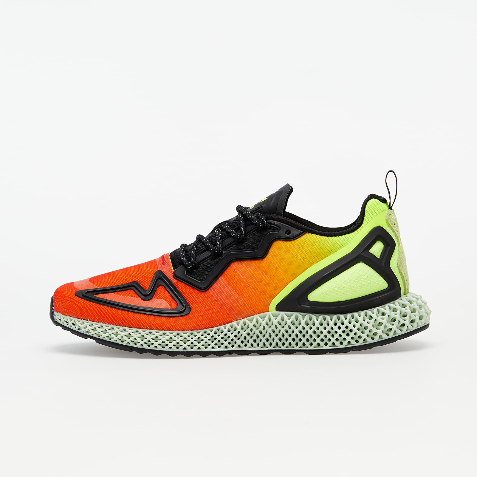 Men's shoes adidas ZX 2K 4D Solar Yellow/ Hi-Res Red/ Core Black