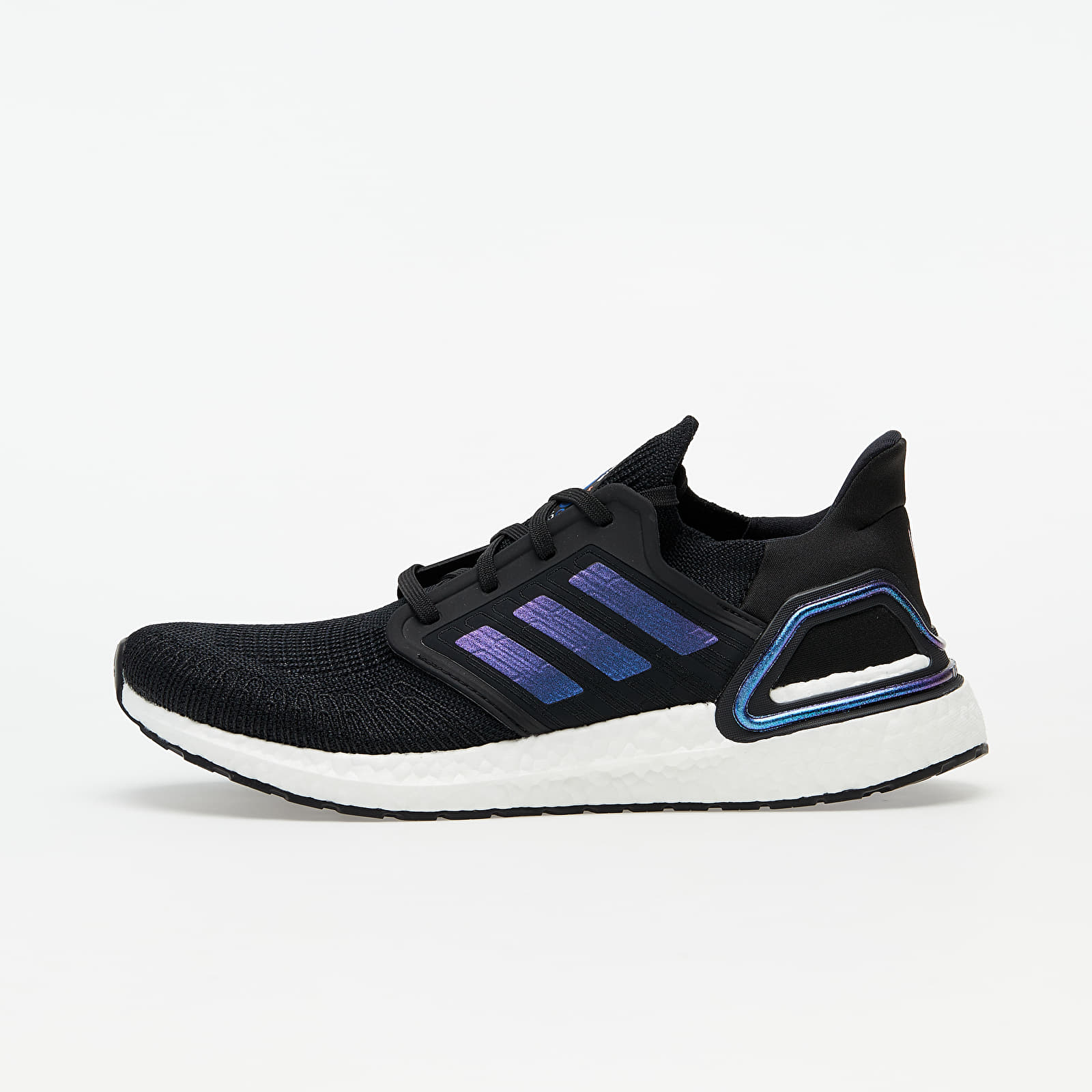 Herenschoenen adidas UltraBOOST 20 Core Black/ Blue Vime/ Ftw White