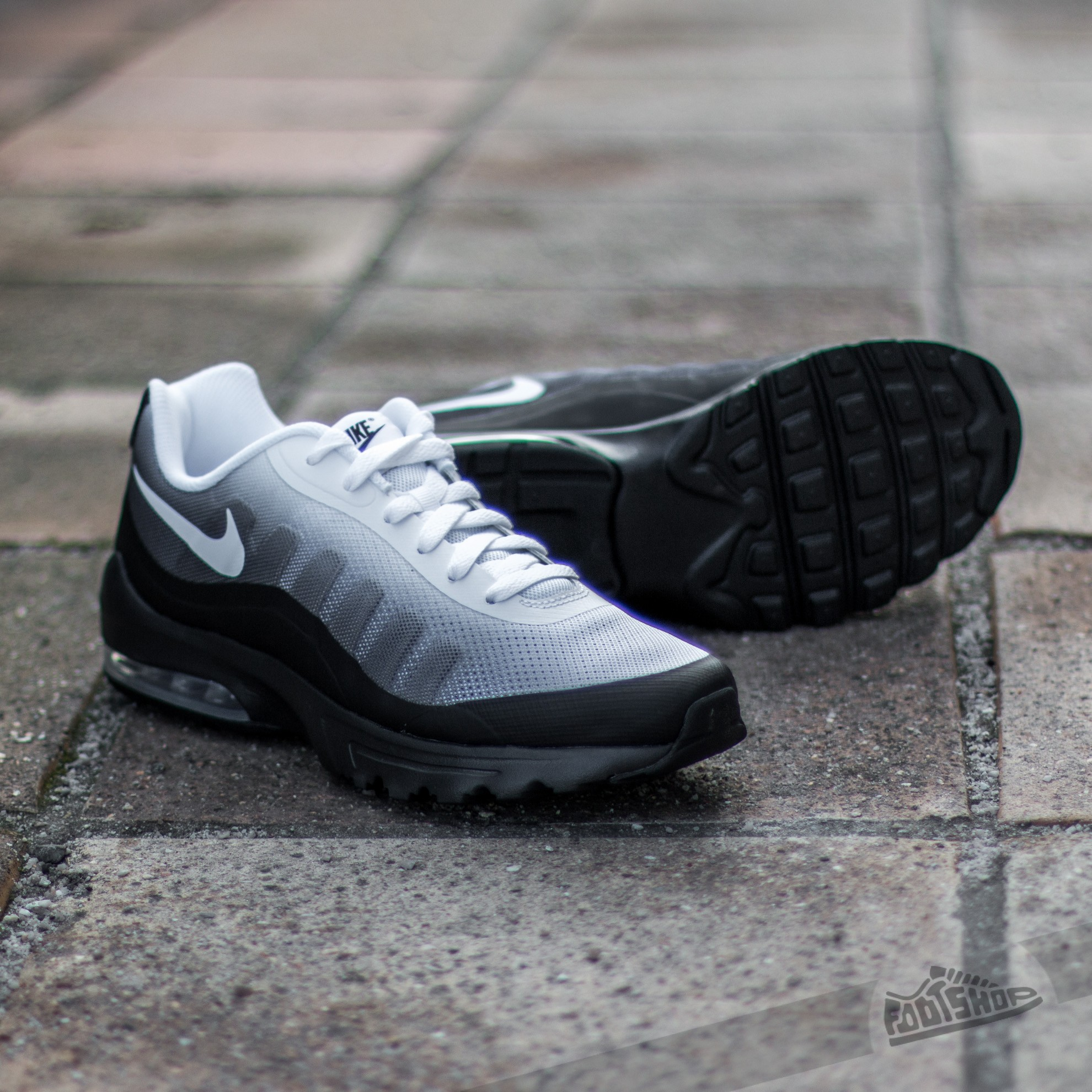 Nike Air Max Invigor Print Black White Cool Grey | Footshop