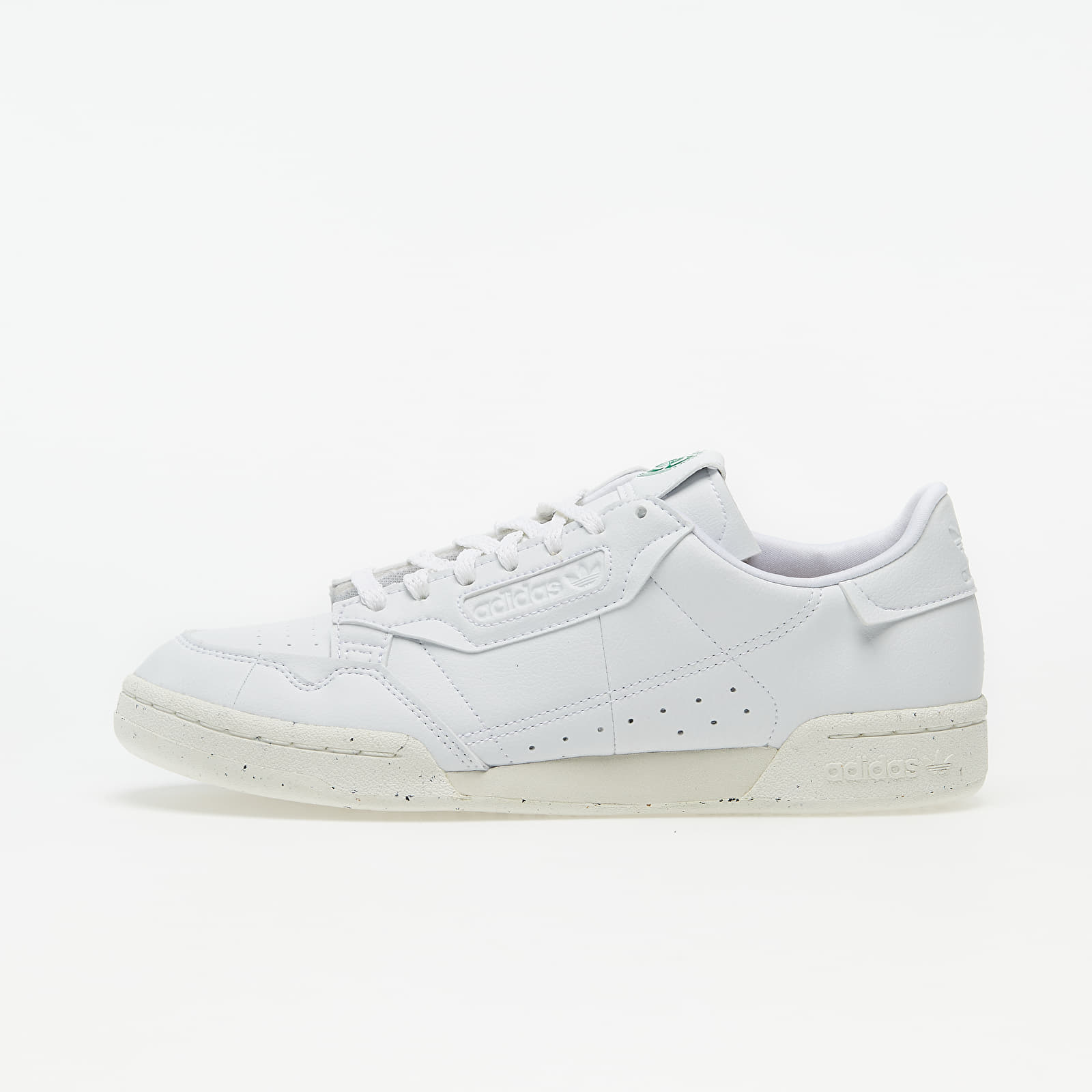 adidas Continental 80 Clean Classics Ftw White/ Off White/ Green EUR 43 1/3