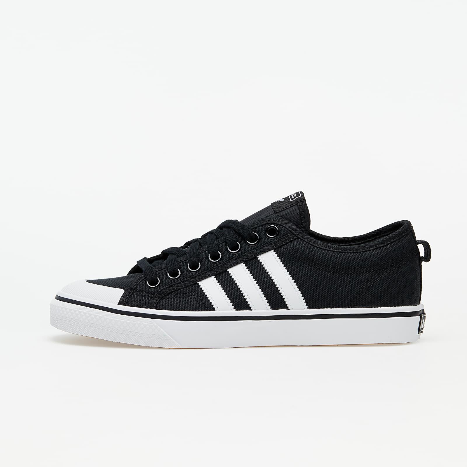 Scarpe e sneaker da uomo adidas Nizza Core Black/ Ftw White/ Ftw White