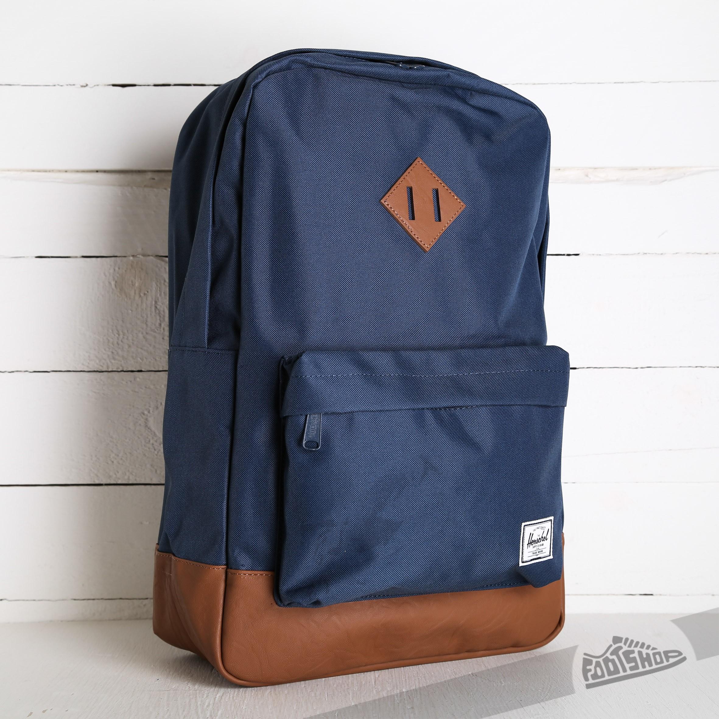 def37a483ad Herschel Supply Co. Heritage Backpack Navy Tan