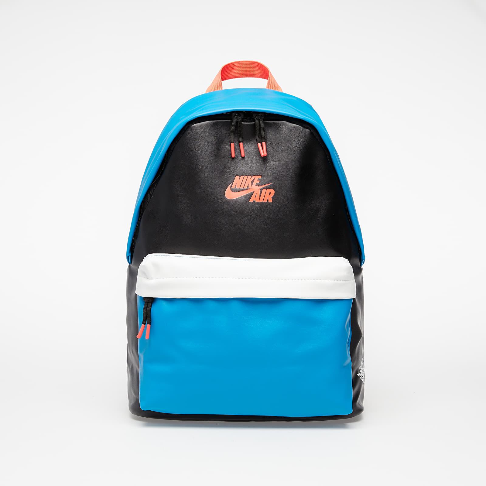Jordan Air 1 Backpack Black/ Blue/ White/ Neon Pink EUR L