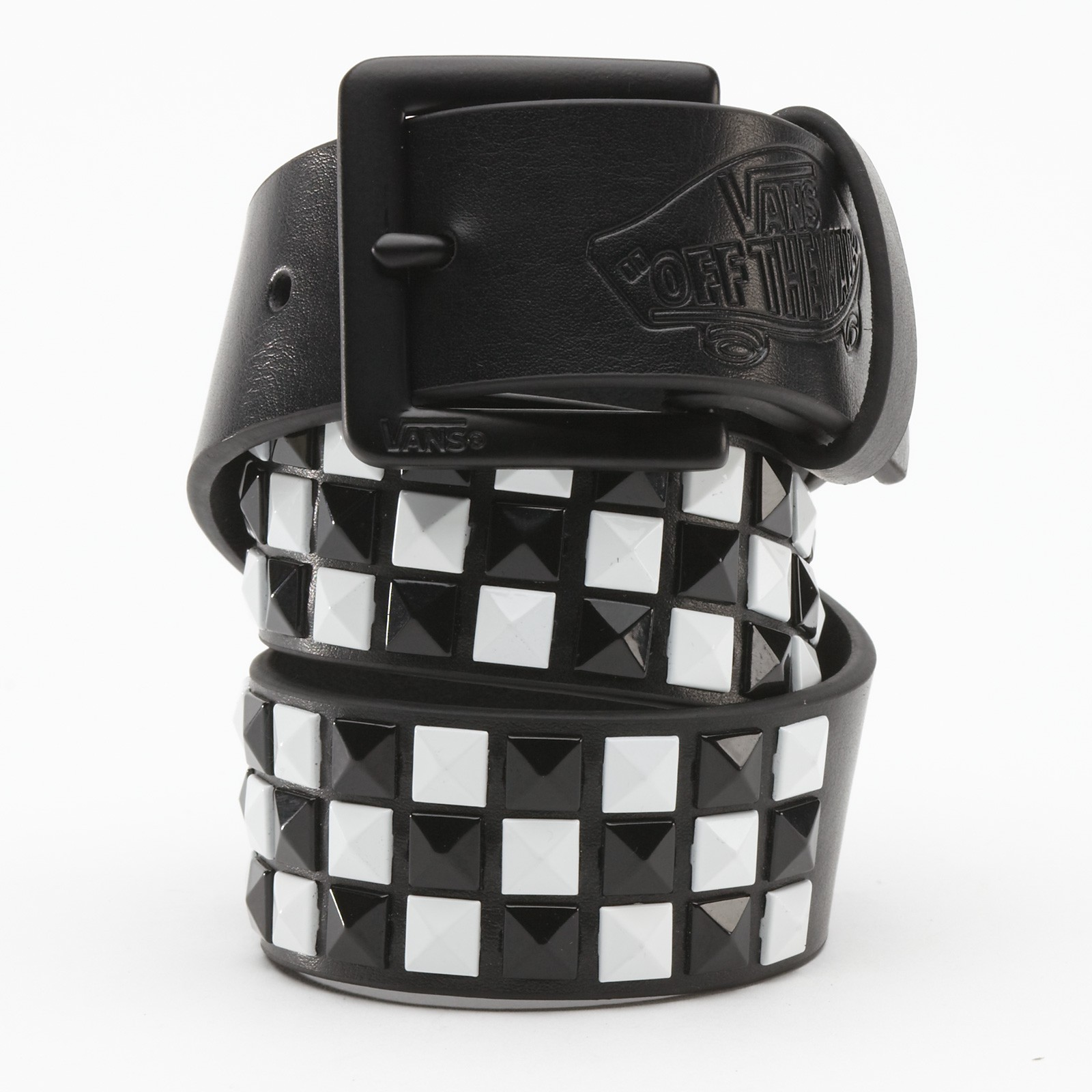 Dětský VANS STUDDED LEATHER Belt BLACKWHI | Footshop
