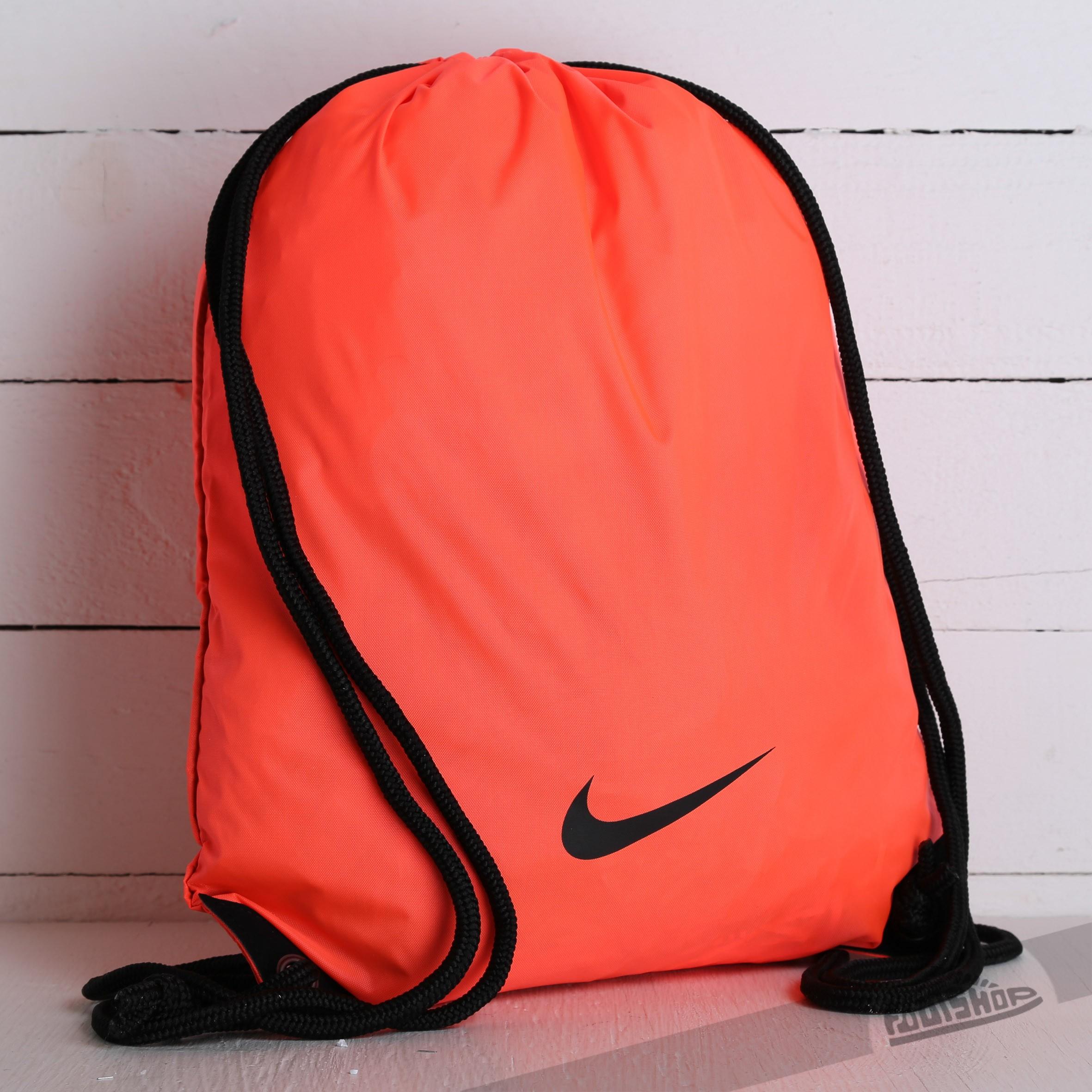 e929326e9b Nike Fundamental Swoosh Gymsack Orange Neon