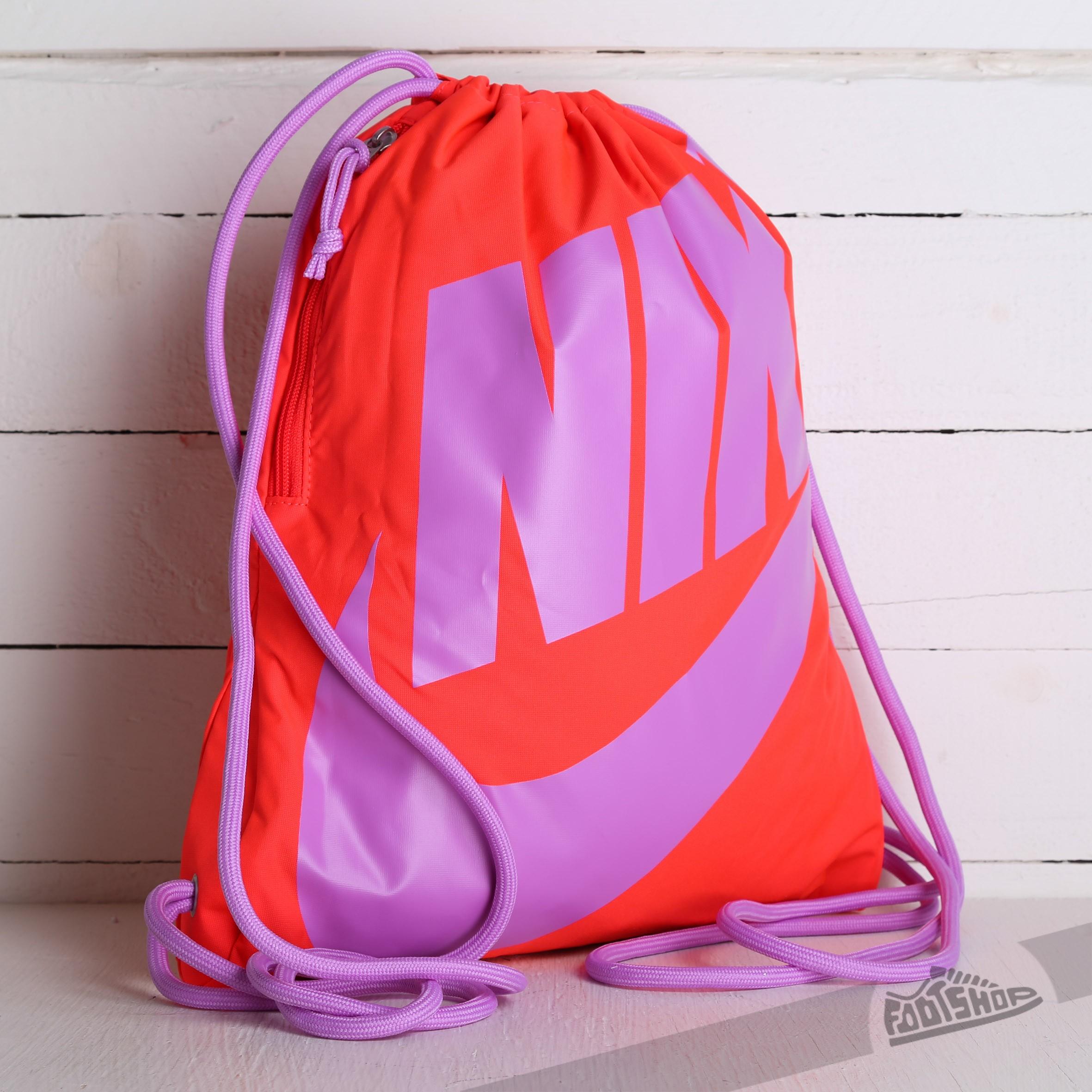 Nike Gymsack Orange Purple   Footshop 2bf899b2b3