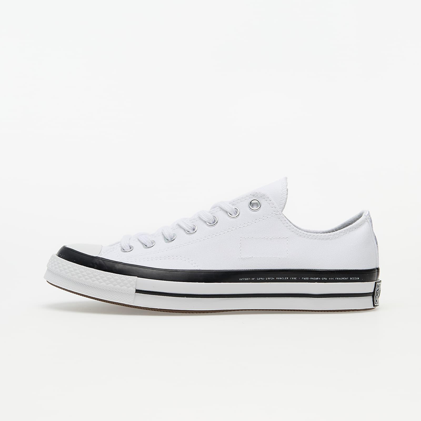 Chaussures et baskets homme Converse x Fragment Design x Moncler Chuck 70 OX White/ Black/ White