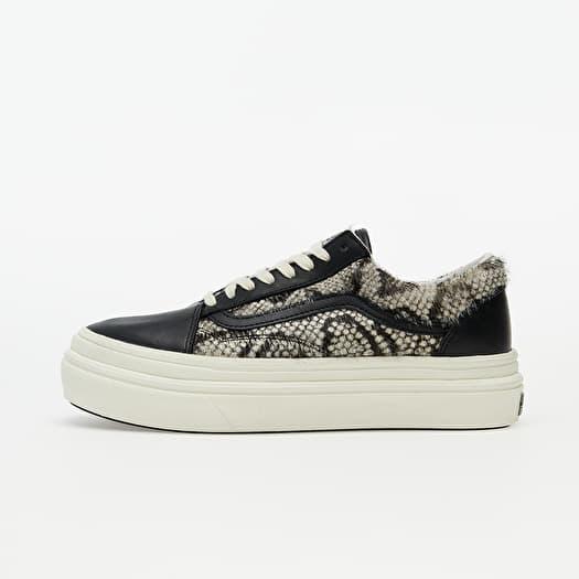 Sneaker Vans Vans Super ComfyCush Old Skool (Snake/ Pony) Black/ Marshmallow