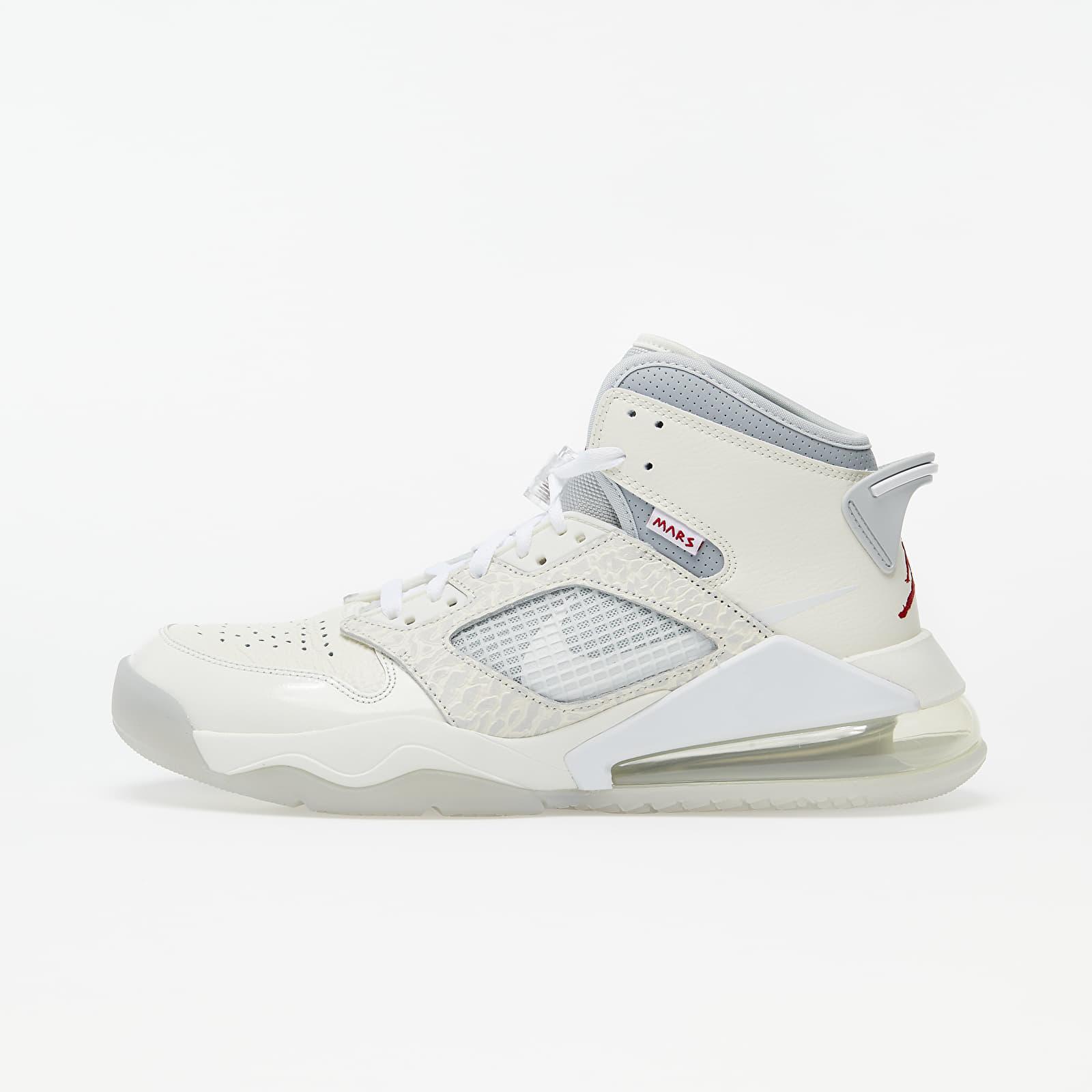 Zapatillas Hombre Jordan Mars 270 Sail/ White-Pure Platinum-Wolf Grey