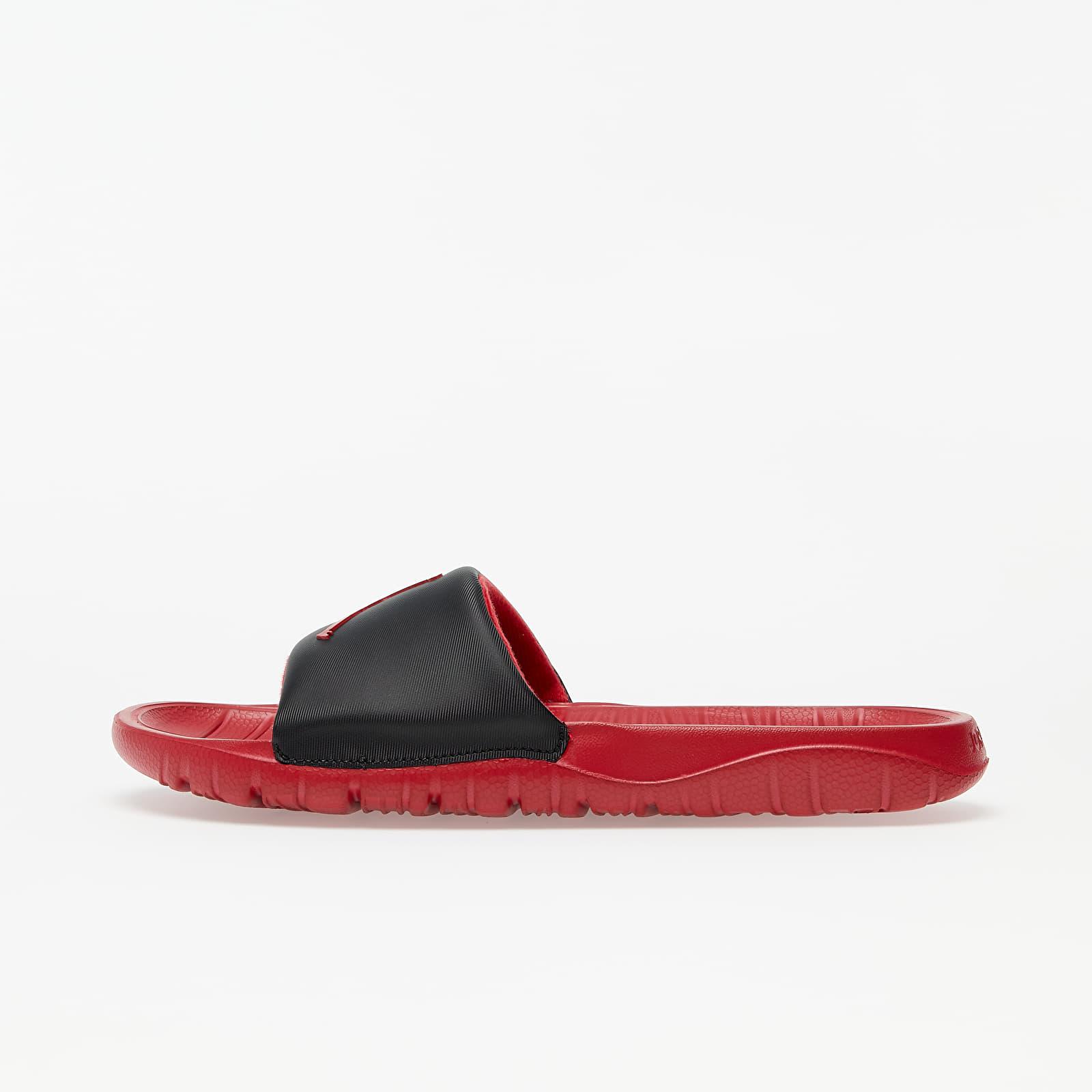Férfi cipők Jordan Break Slide Black/ Gym Red