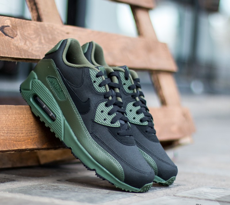 new concept 3bff5 d2731 Nike Air Max 90 Winter Premium Carbon Green/ Black | Footshop