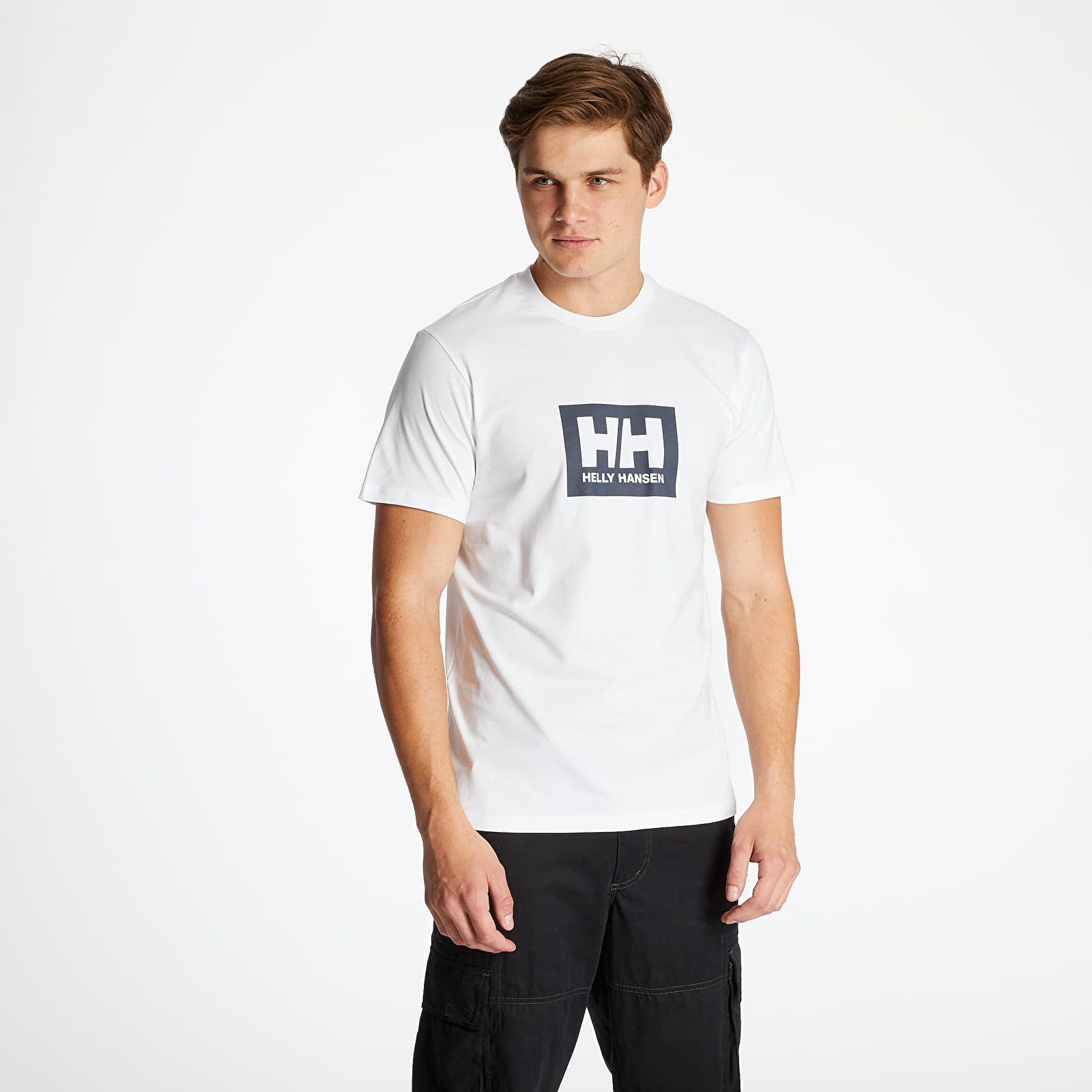 Tricouri Helly Hansen HH Box Tee White