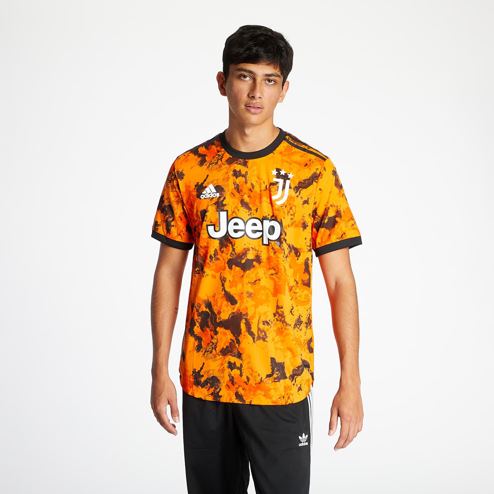 adidas Juventus 3rd Authentic Jersey Orange