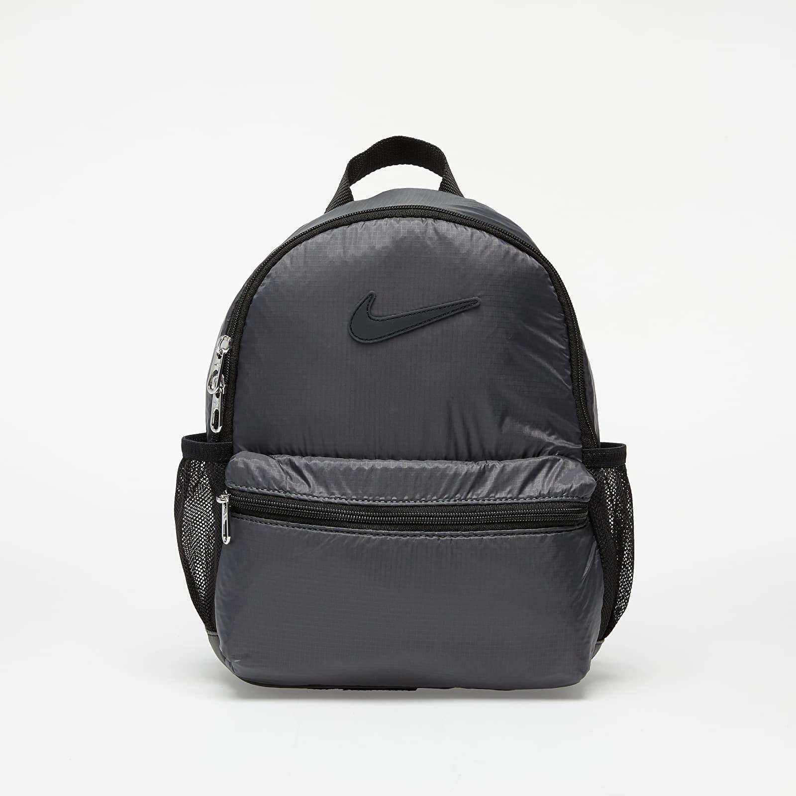 Batohy Nike Brasilia JDI Kids' Backpack (Mini) Black/ Dark Grey/ Black