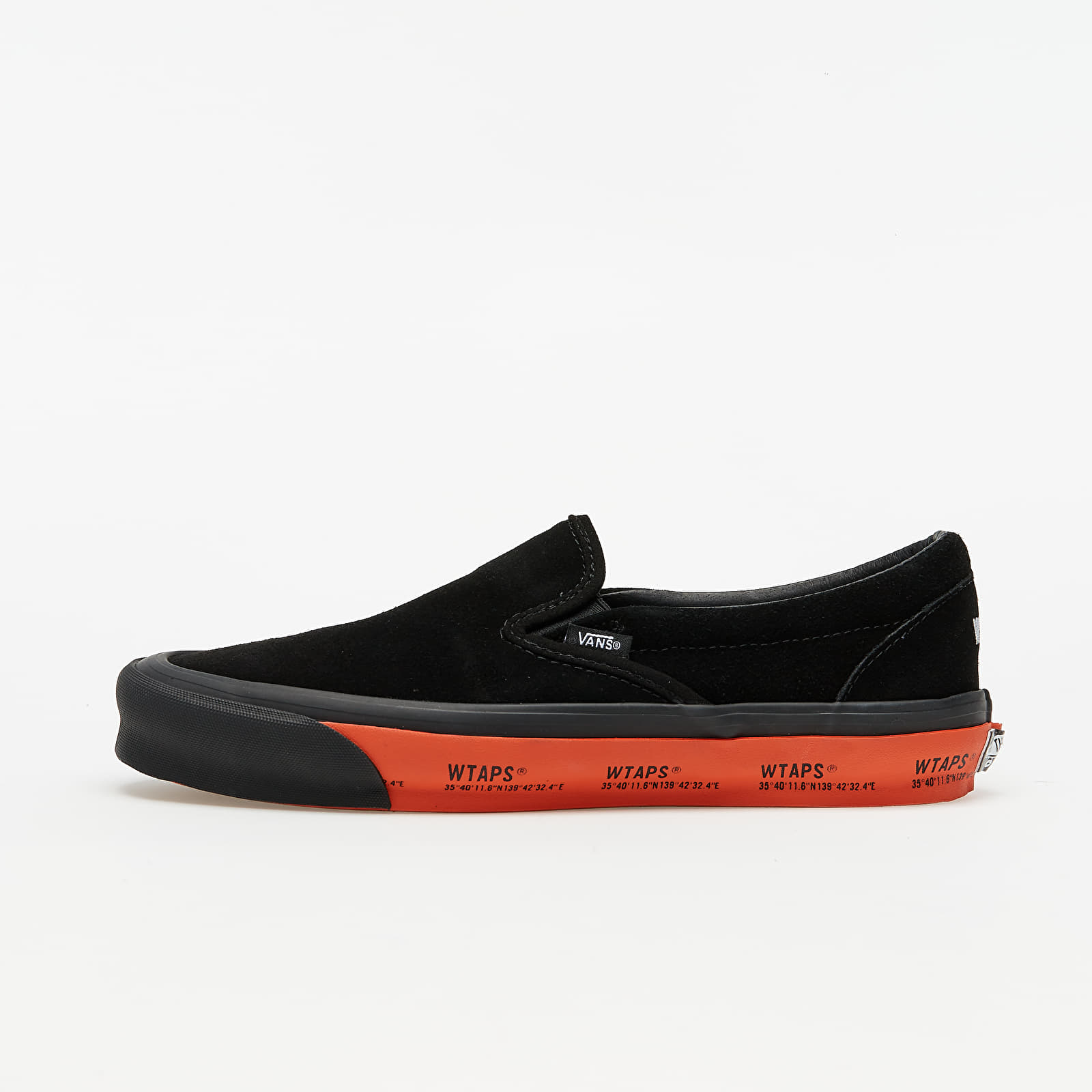 Chaussures et baskets homme Vans OG Classic Slip-On (Wtaps) Gps/ Black